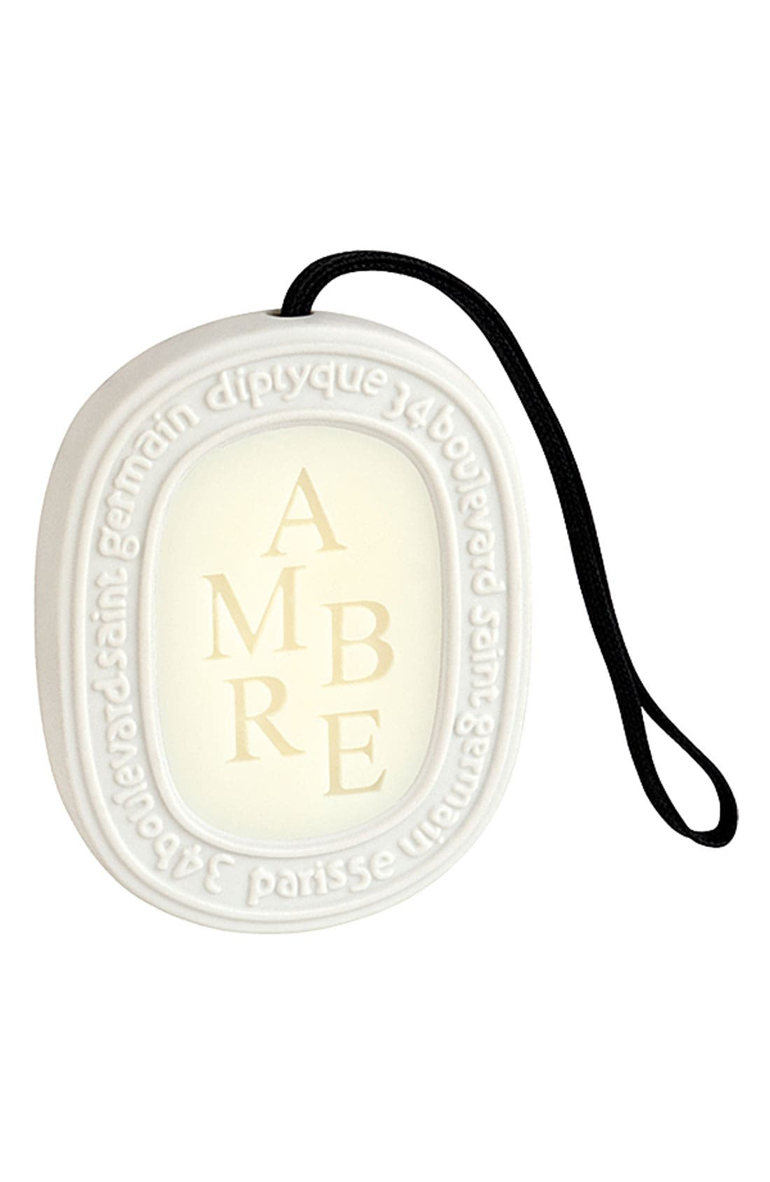 Alternate Image 1 Selected - diptyque 'Ambre' Scented Oval