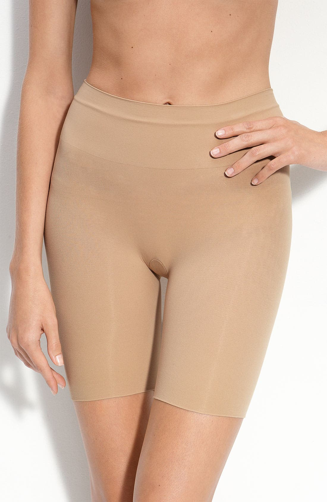 Alternate Image 1 Selected - SPANX® Mid Thigh Shaper