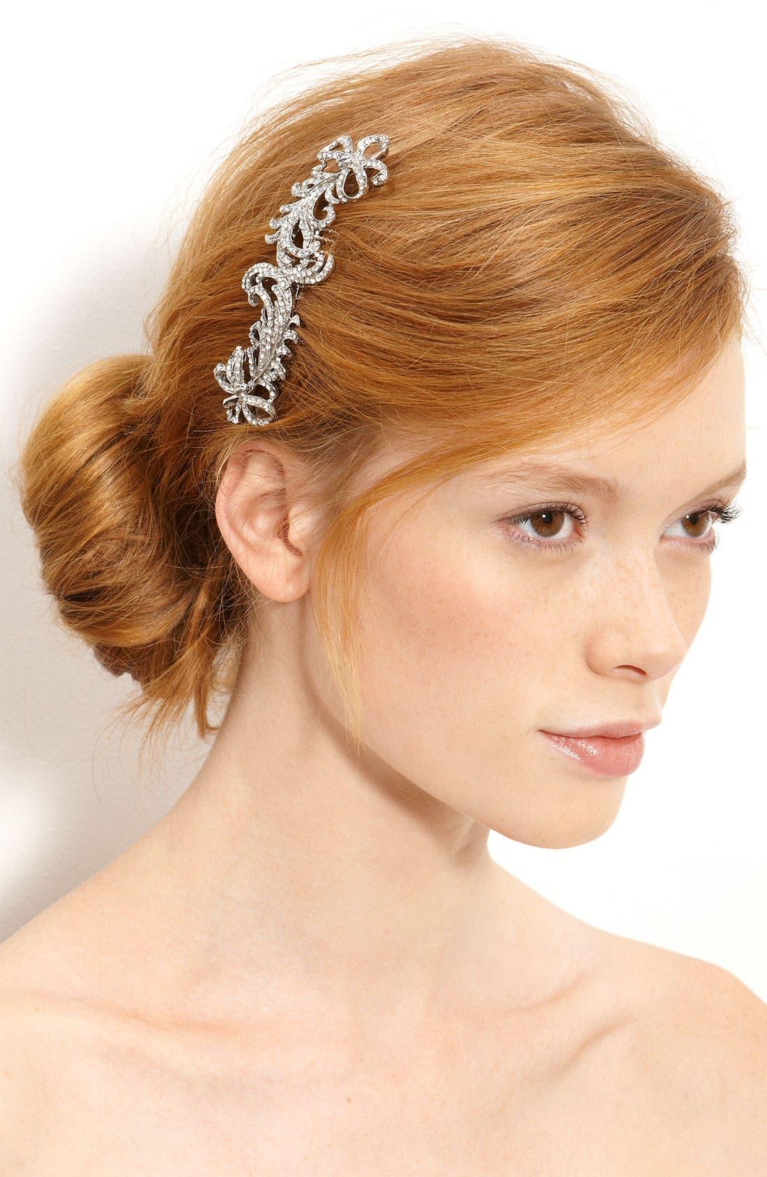 Alternate Image 1 Selected - Nina 'Caleigh' Swarovski Crystal Comb