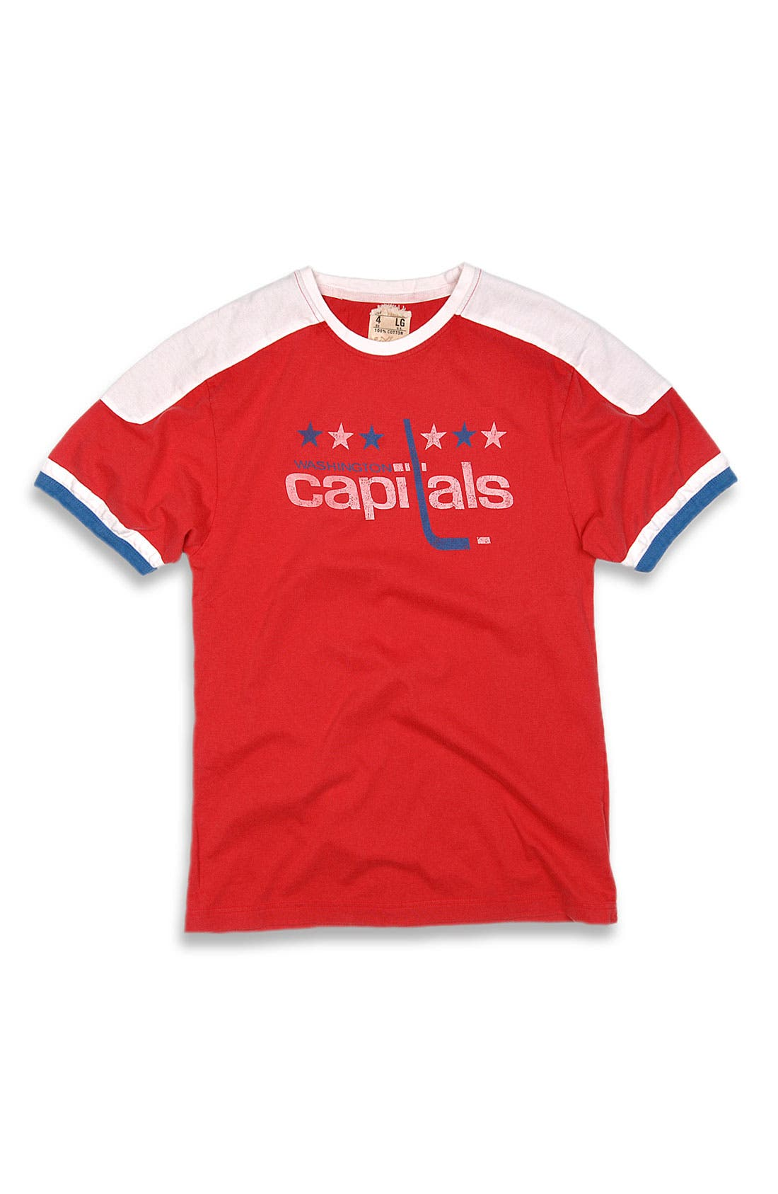 Alternate Image 1 Selected - Red Jacket 'Capitals' T-Shirt (Men)