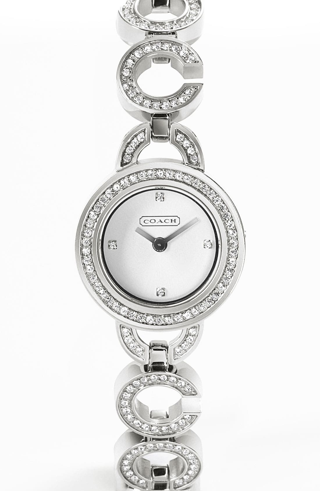 Alternate Image 1 Selected - COACH 'Kristy' Bracelet Watch