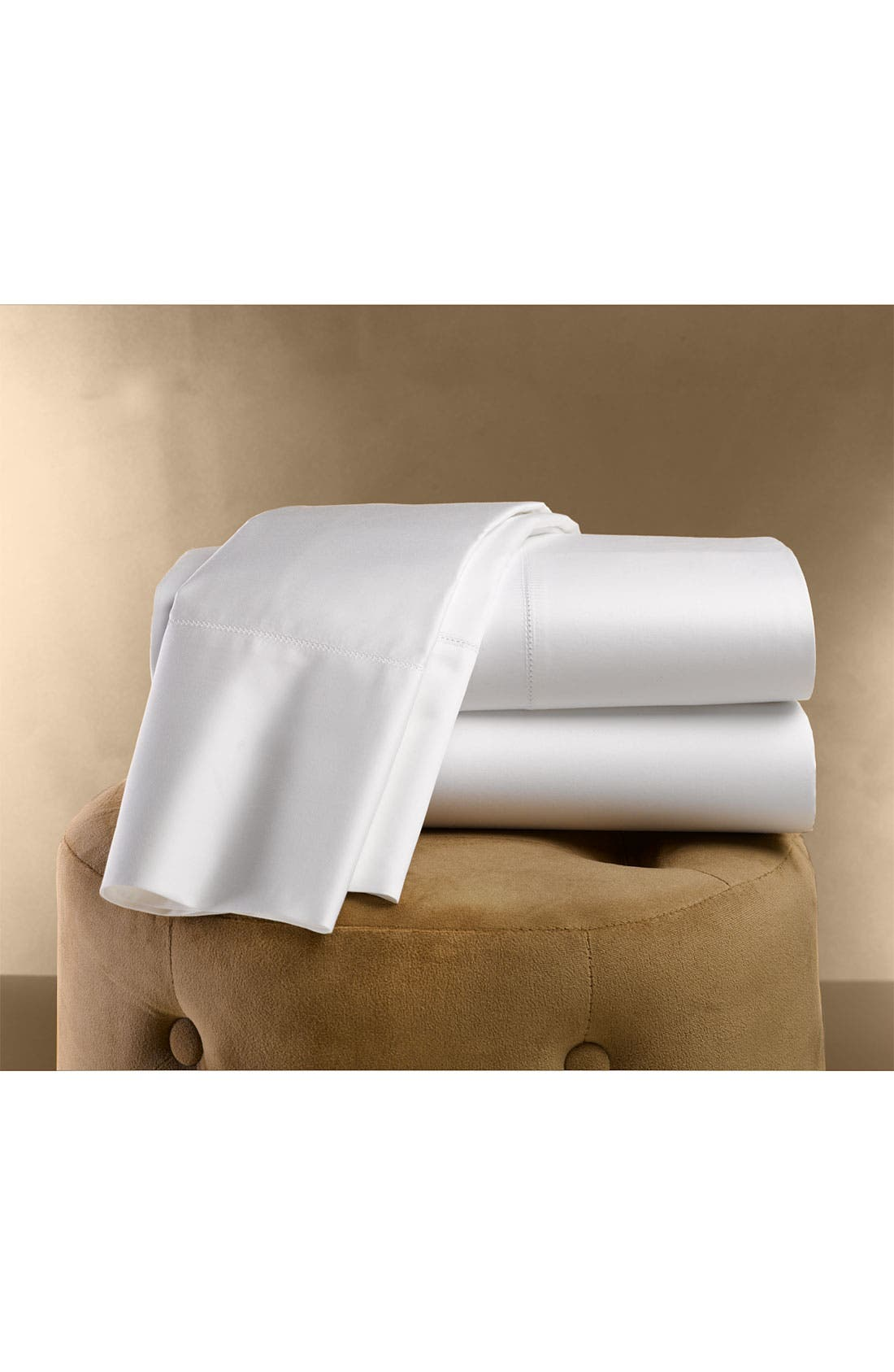 Alternate Image 2  - Nordstrom at Home 500 Thread Count Fitted Sateen Sheet