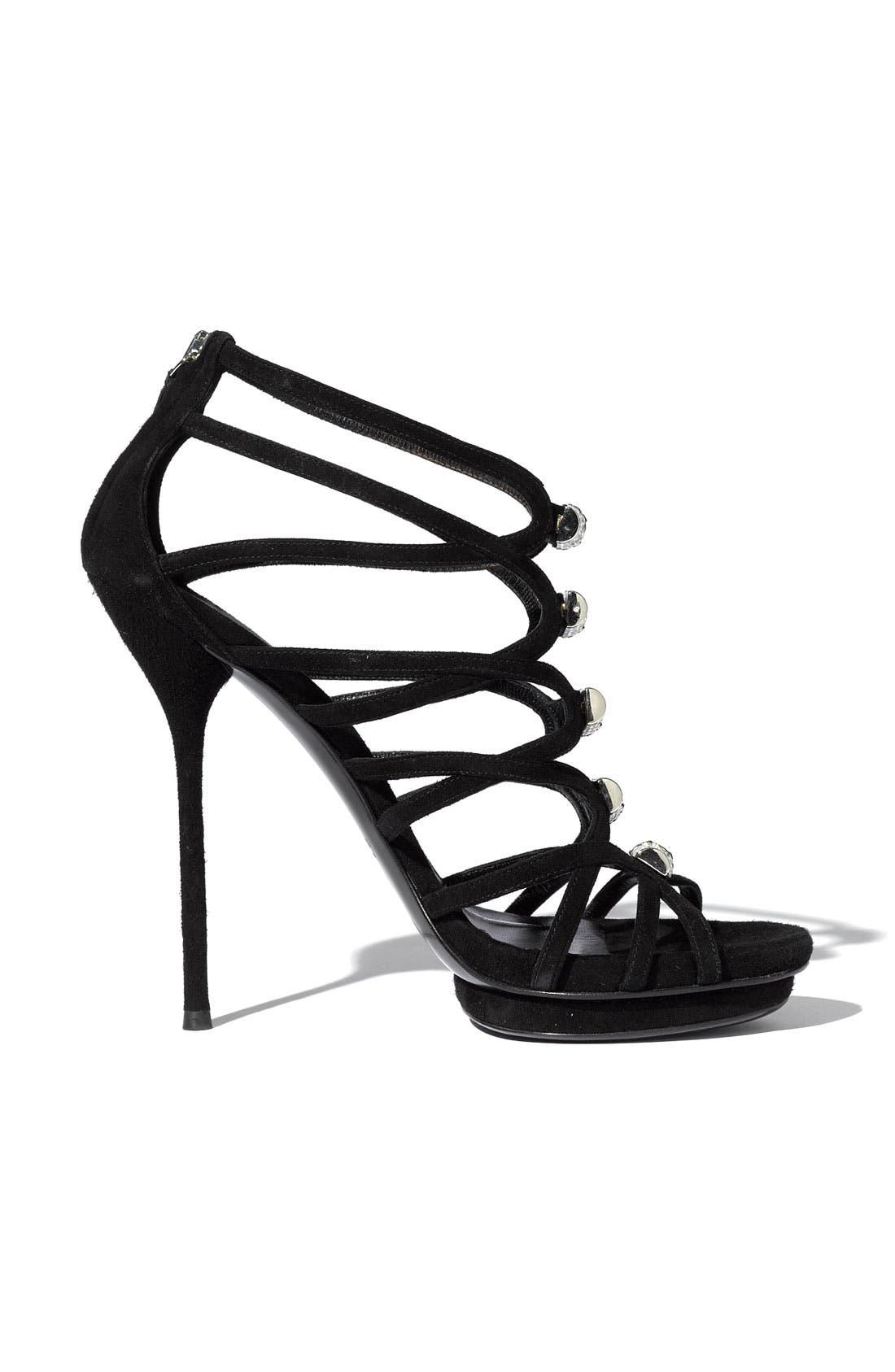 Alternate Image 2  - Gucci 'Jenna' Caged Platform Sandal