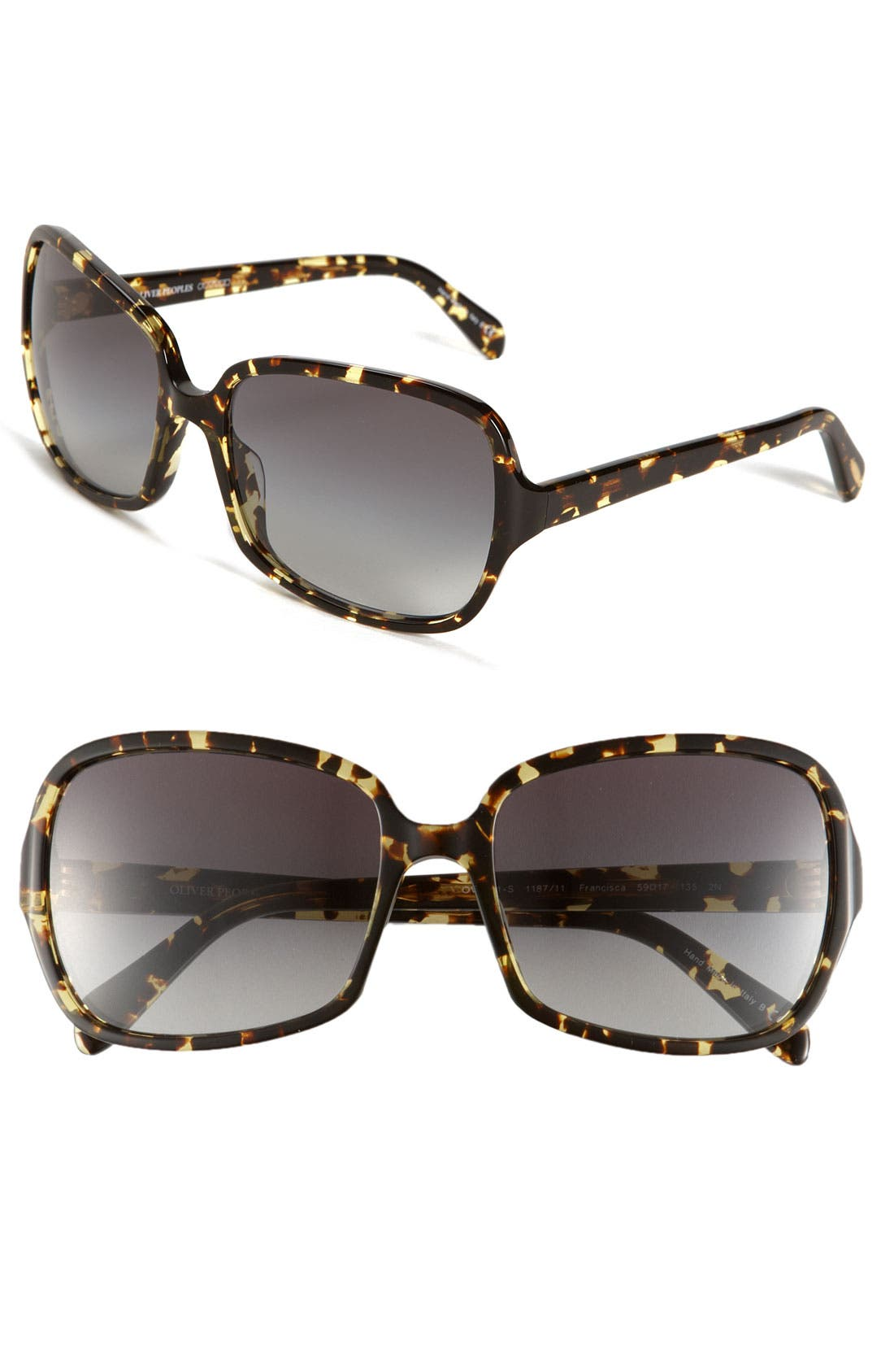 Alternate Image 1 Selected - Oliver Peoples 'Francisca' 59mm Retro Sunglasses