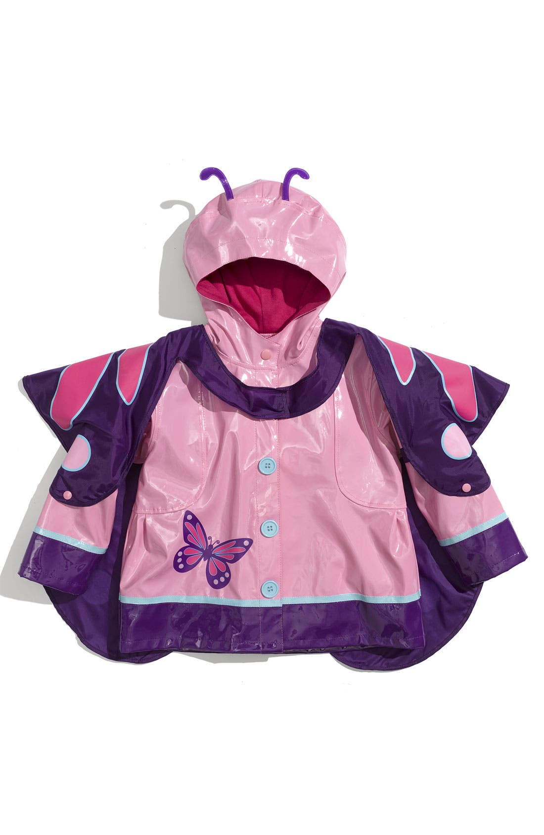 Alternate Image 1 Selected - Western Chief 'Wings' Raincoat (Toddler & Little Girls)