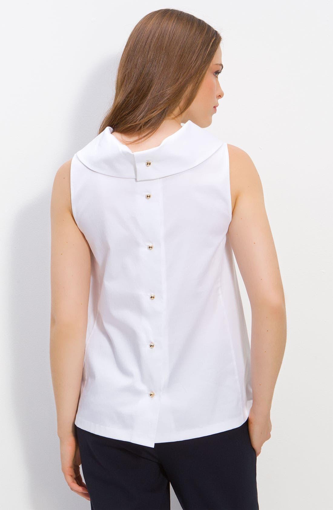 Alternate Image 2  - kate spade new york 'blaise' sleeveless cowl neck blouse