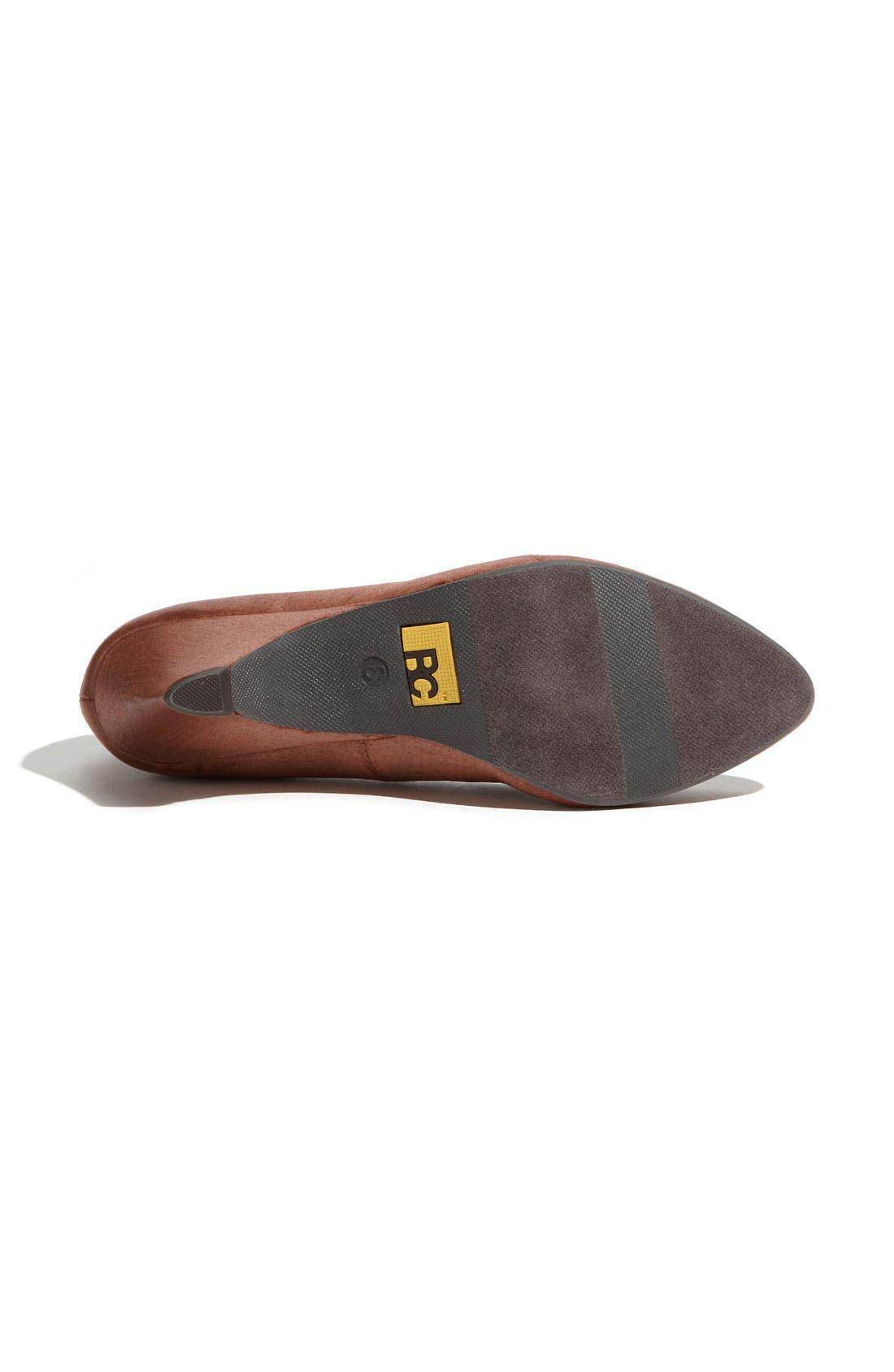 Alternate Image 4  - BC Footwear 'In The Winner's Circle' Pump