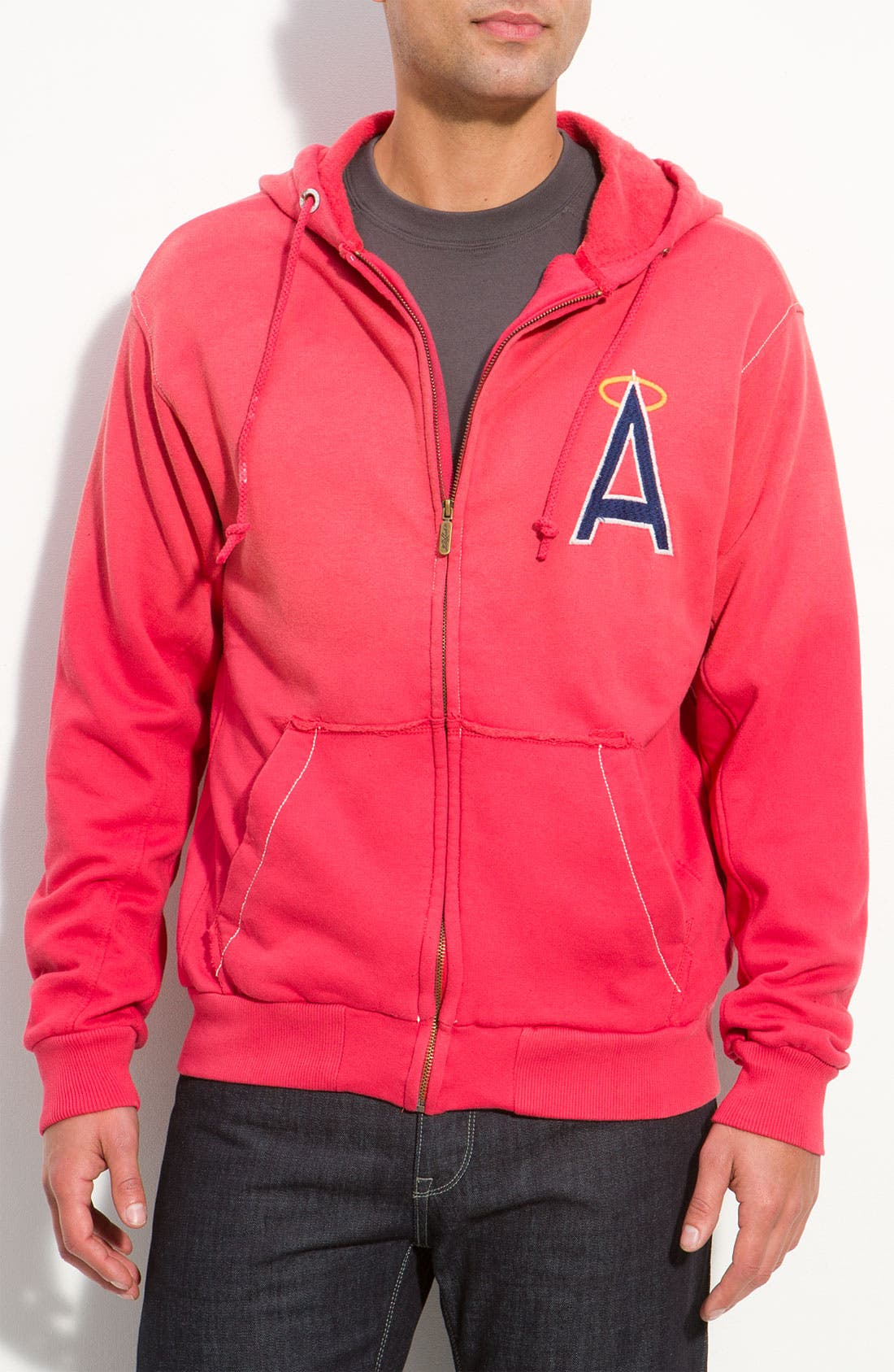 Alternate Image 1 Selected - Red Jacket 'Angels' Hoodie