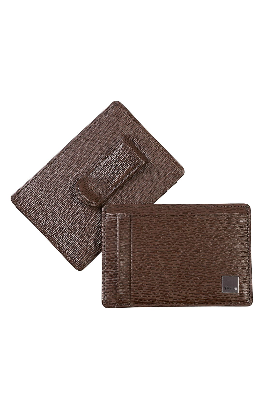 Main Image - Tumi 'Monaco' Money Clip Card Case