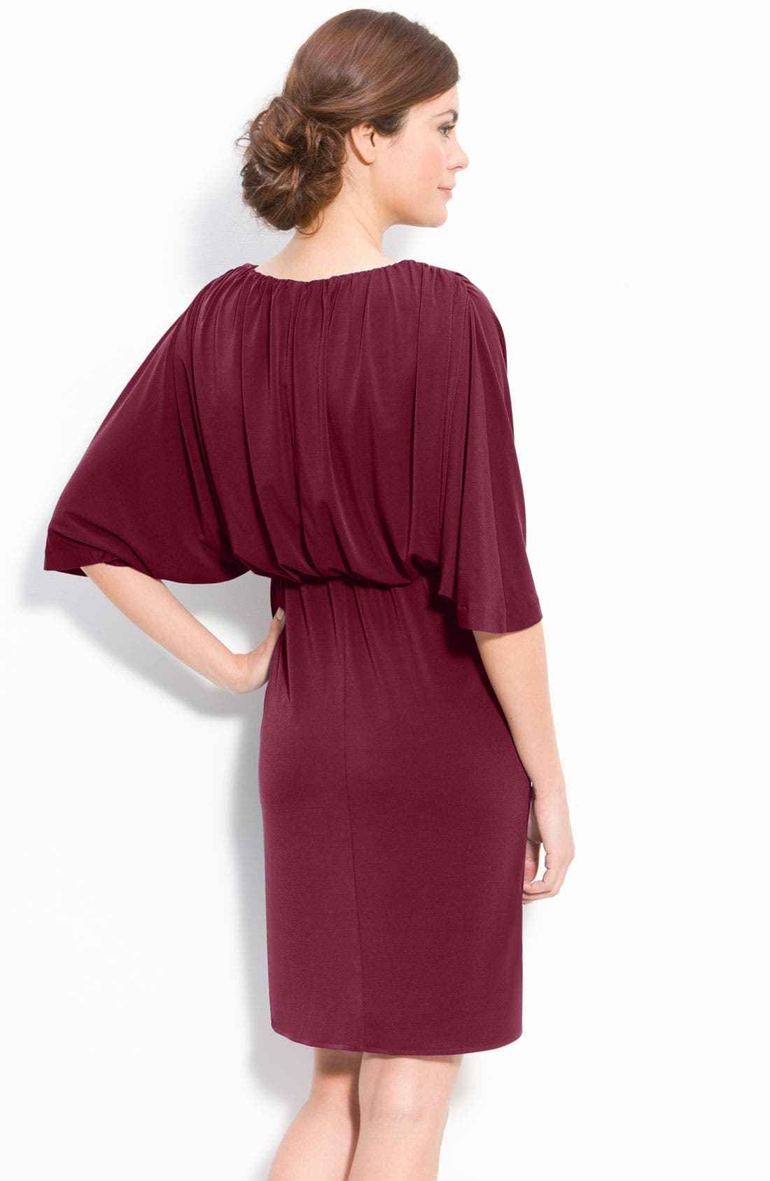 Alternate Image 2  - Suzi Chin for Maggy Boutique Dolman Jersey Dress