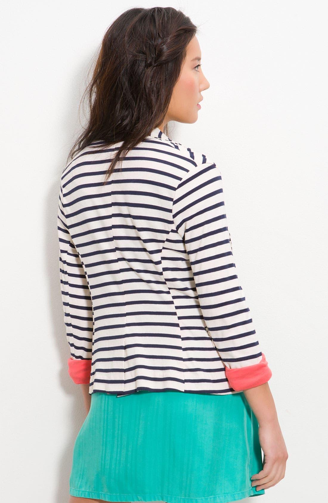 Alternate Image 2  - Splendid 'Palm Desert' Stripe Blazer