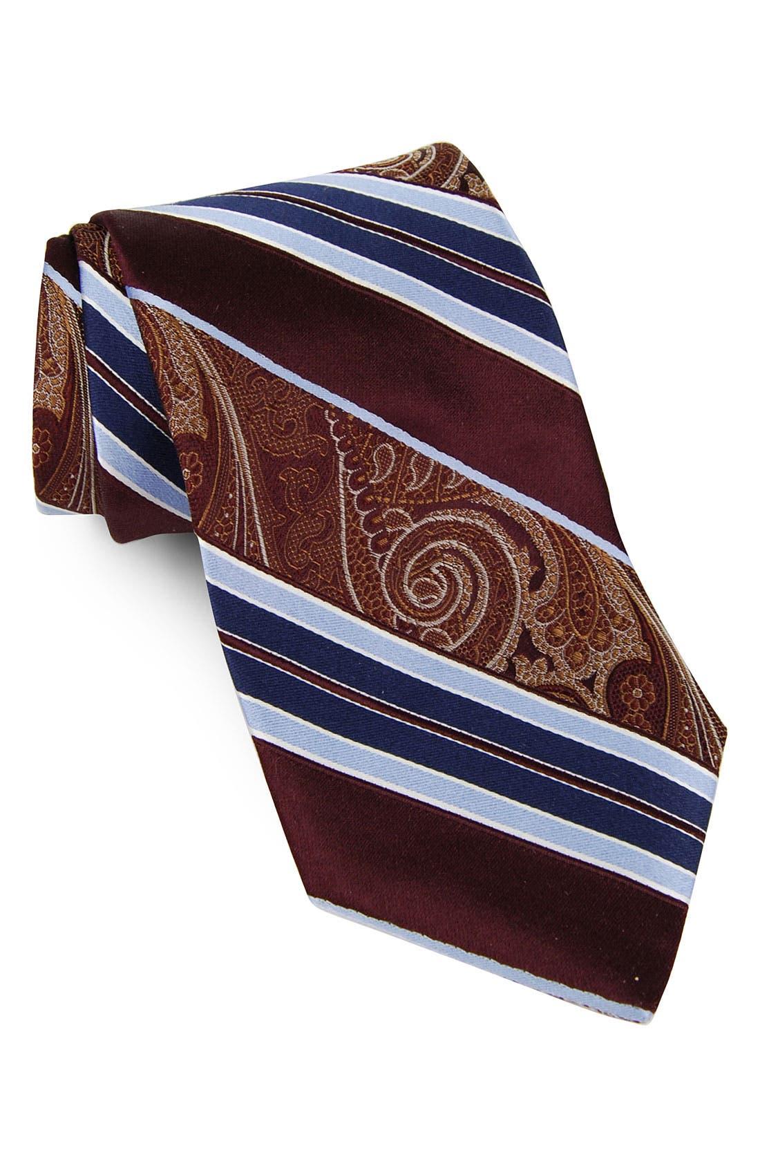 Alternate Image 1 Selected - John W. Nordstrom® 'Dime Stripe' Silk Tie