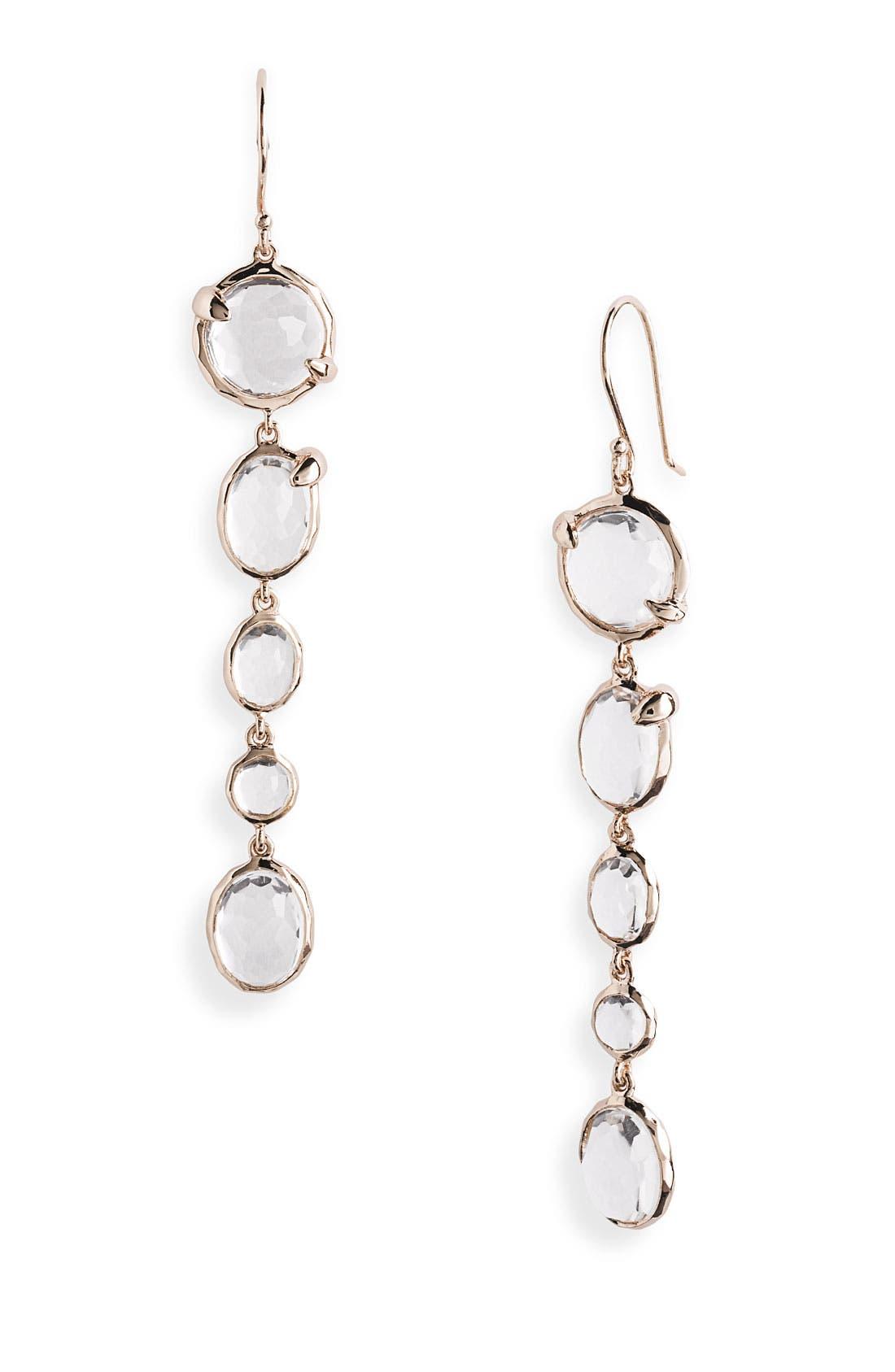 Main Image - Ippolita 'Sugar Kissed' Rosé Drop Earrings