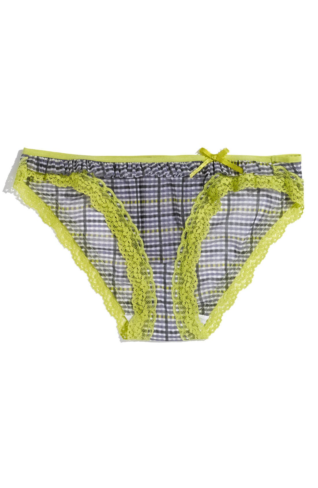 Alternate Image 1 Selected - DKNY 'Fancy Frills' Bikini