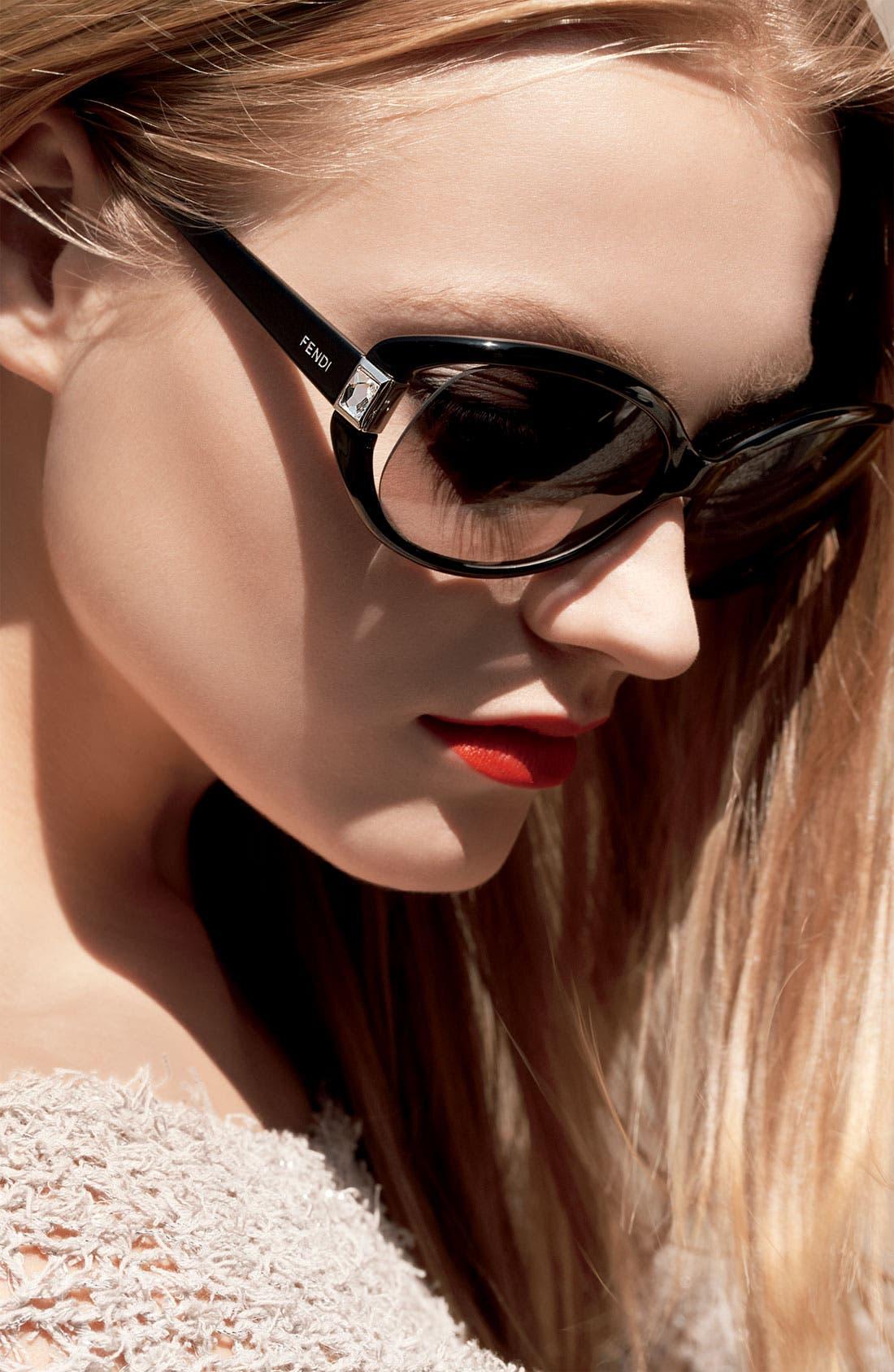 Alternate Image 2  - Fendi Sunglasses