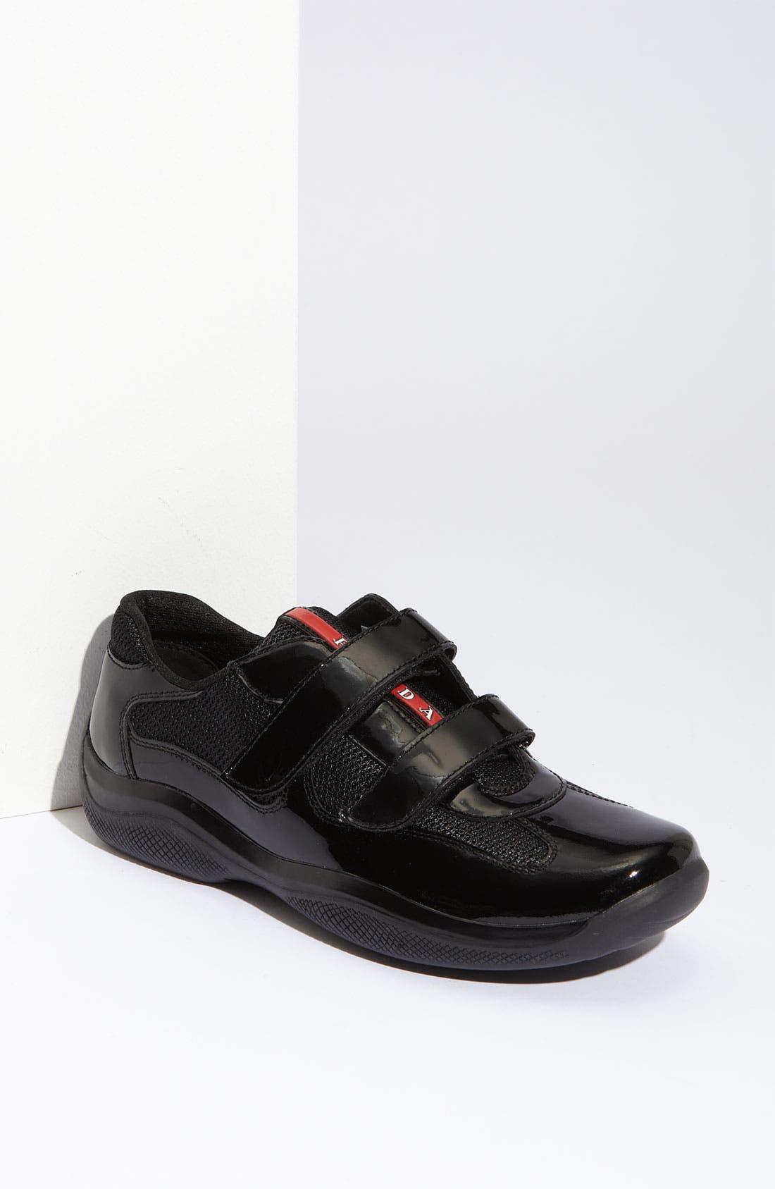 Alternate Image 1 Selected - Prada 'America's Cup' Patent Leather Sneaker