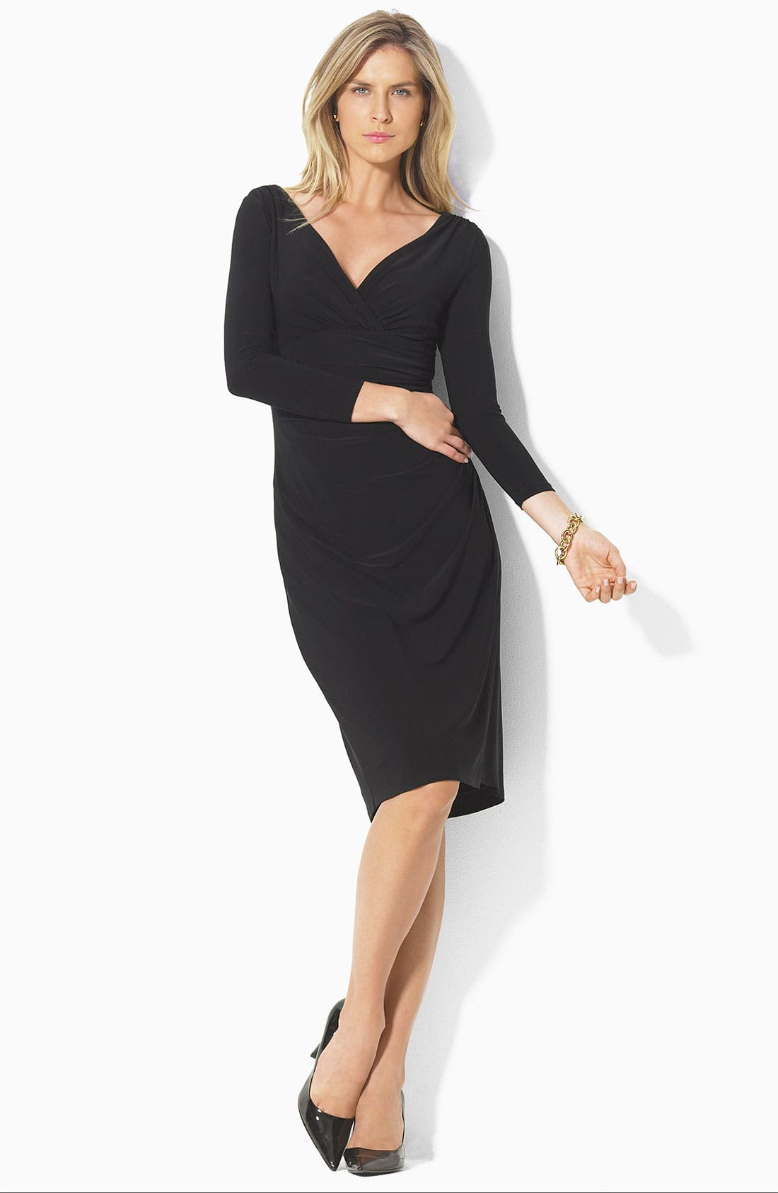Main Image - Lauren Ralph Lauren Matte Jersey Dress
