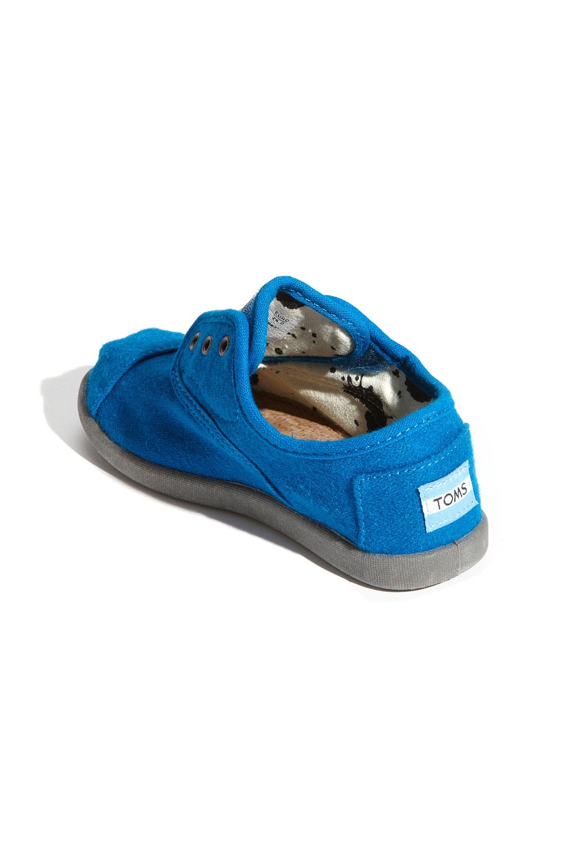 Alternate Image 2  - TOMS 'Cordones - Tiny' Woolen Slip-On Sneaker (Baby, Walker & Toddler)