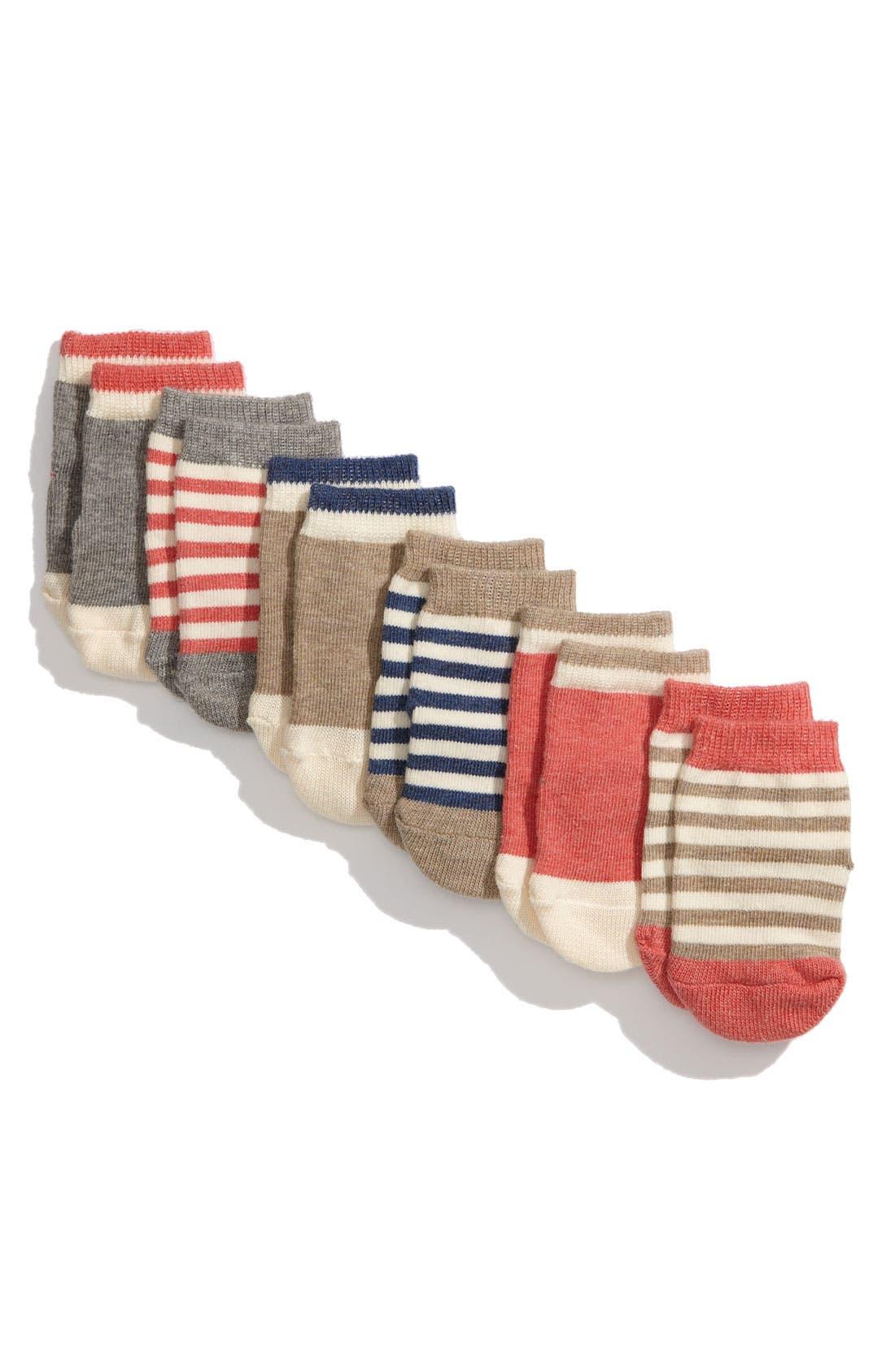 Alternate Image 2  - Etiquette Clothiers 'Vintage Bundle' Socks (6-Pack) (Infant)