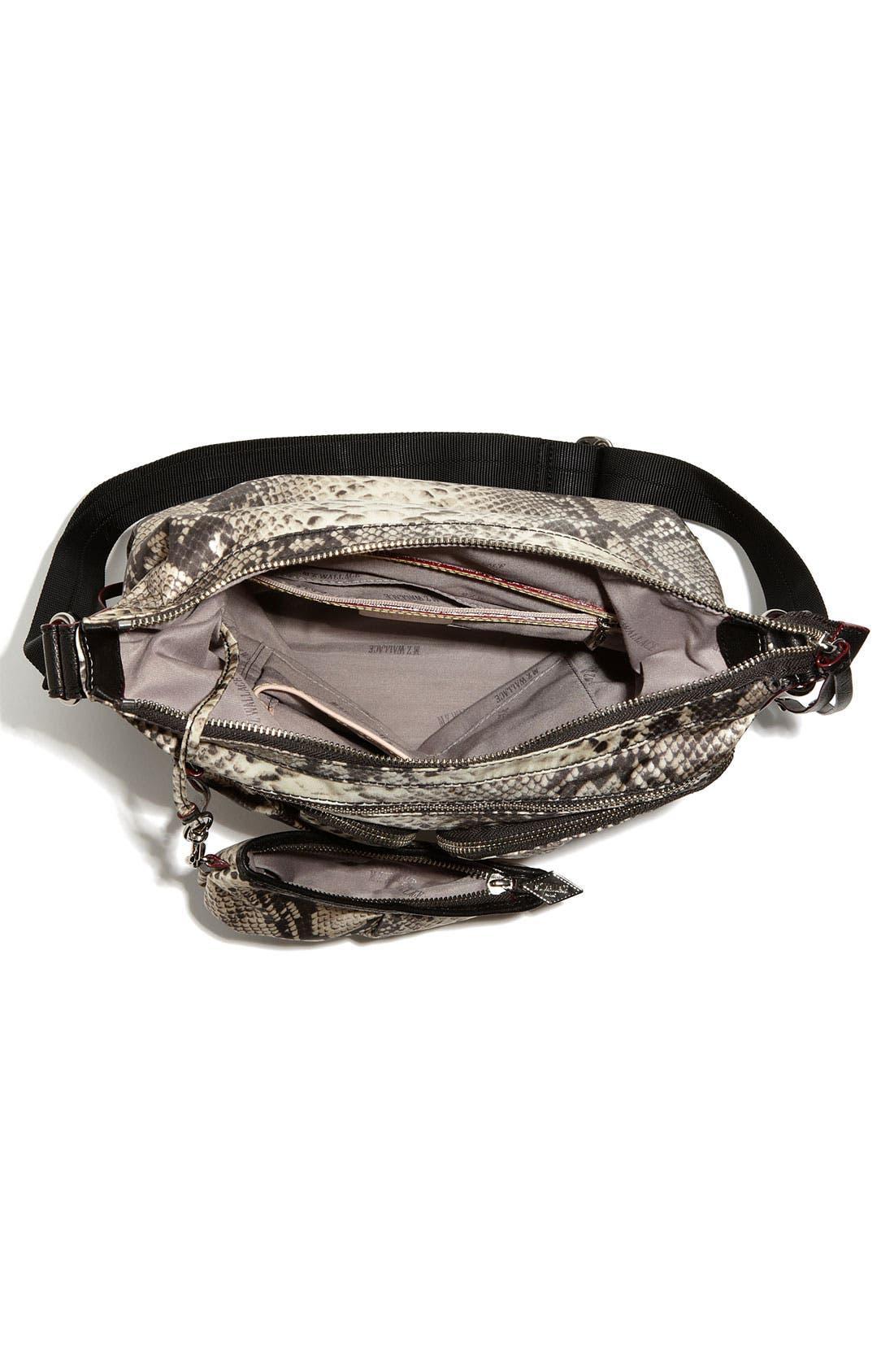 Alternate Image 3  - M Z Wallace 'Mia' Snake Print Crossbody Bag
