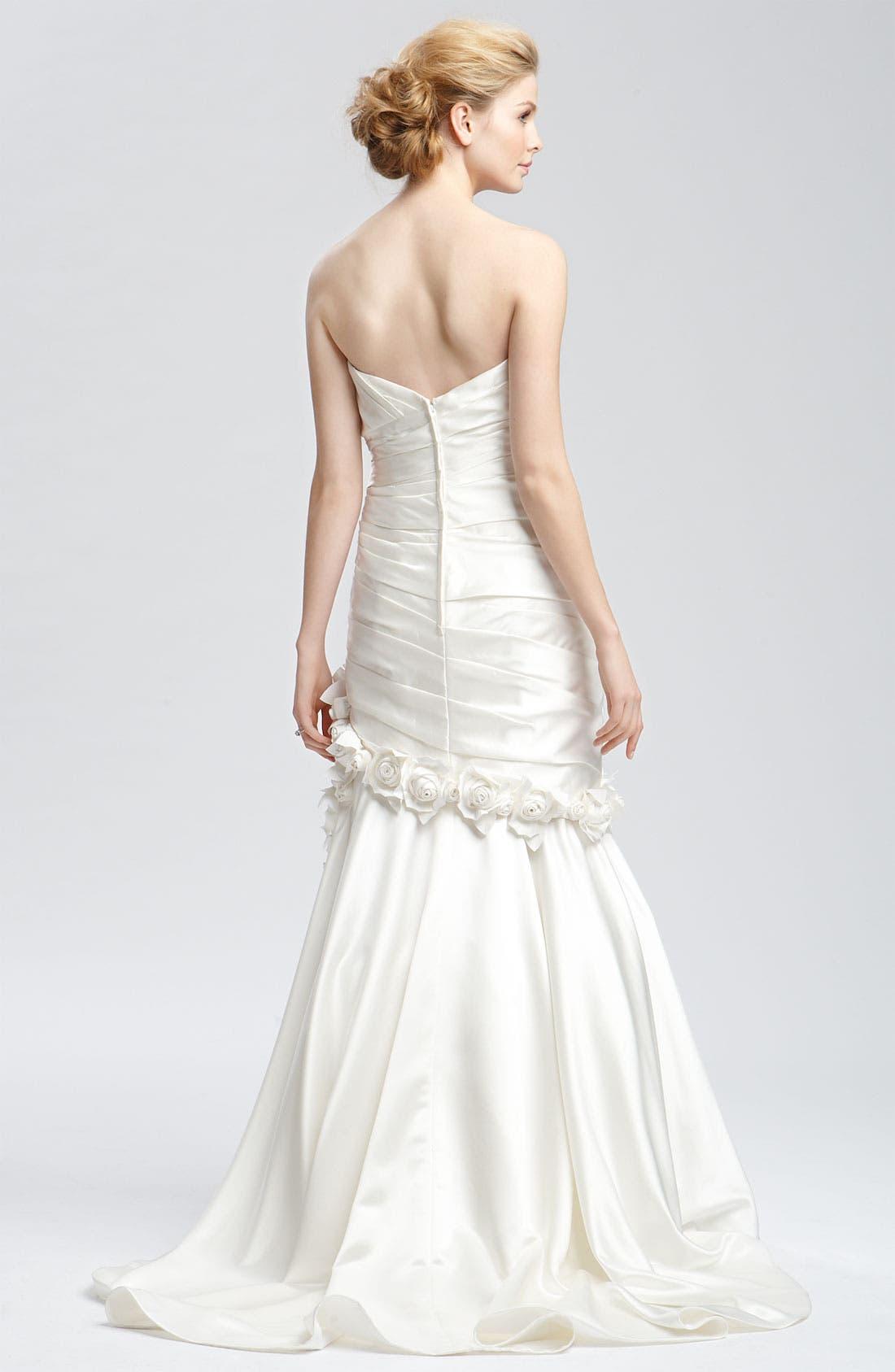 Alternate Image 3  - Faviana 'Eva' Convertible Satin Gown