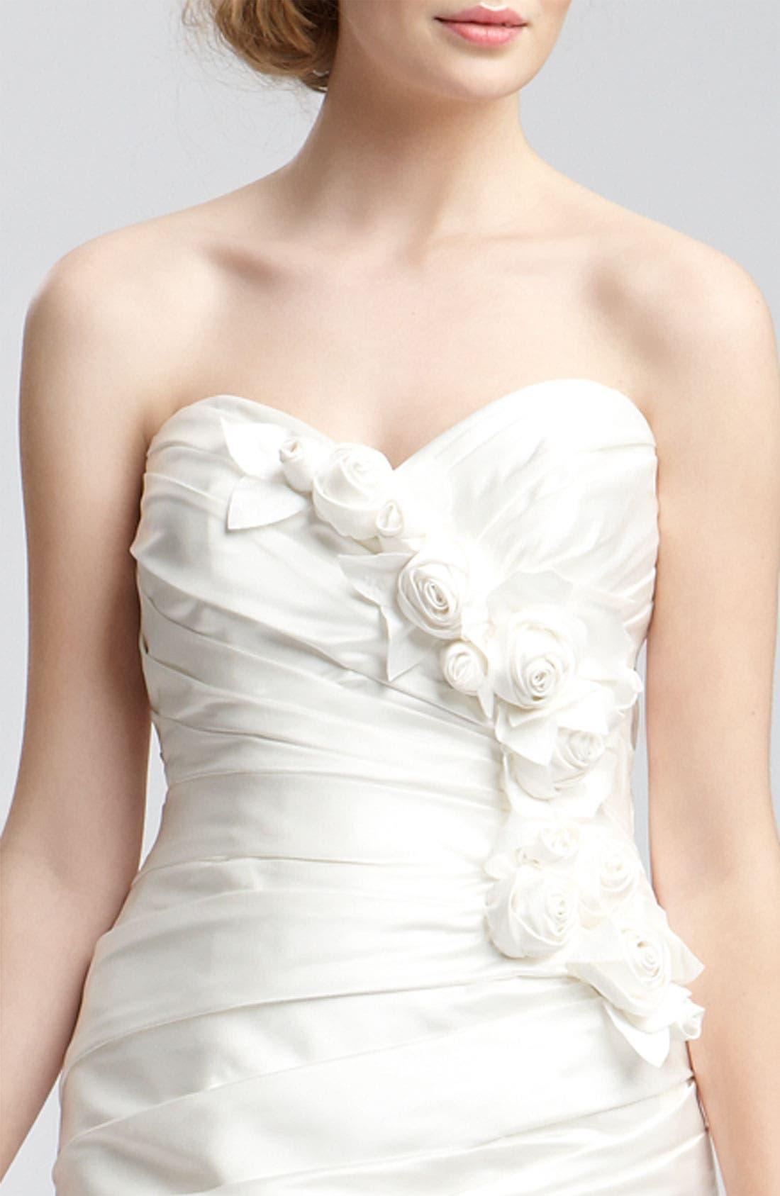 Alternate Image 6  - Faviana 'Eva' Convertible Satin Gown