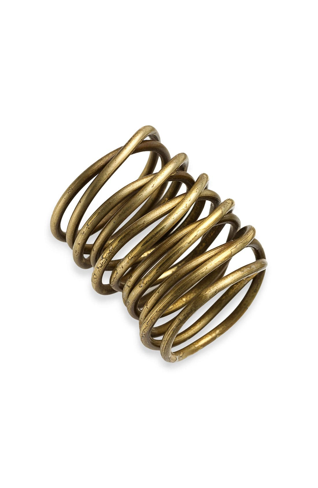 Alternate Image 1 Selected - Kelly Wearstler Twisted Brass Ring