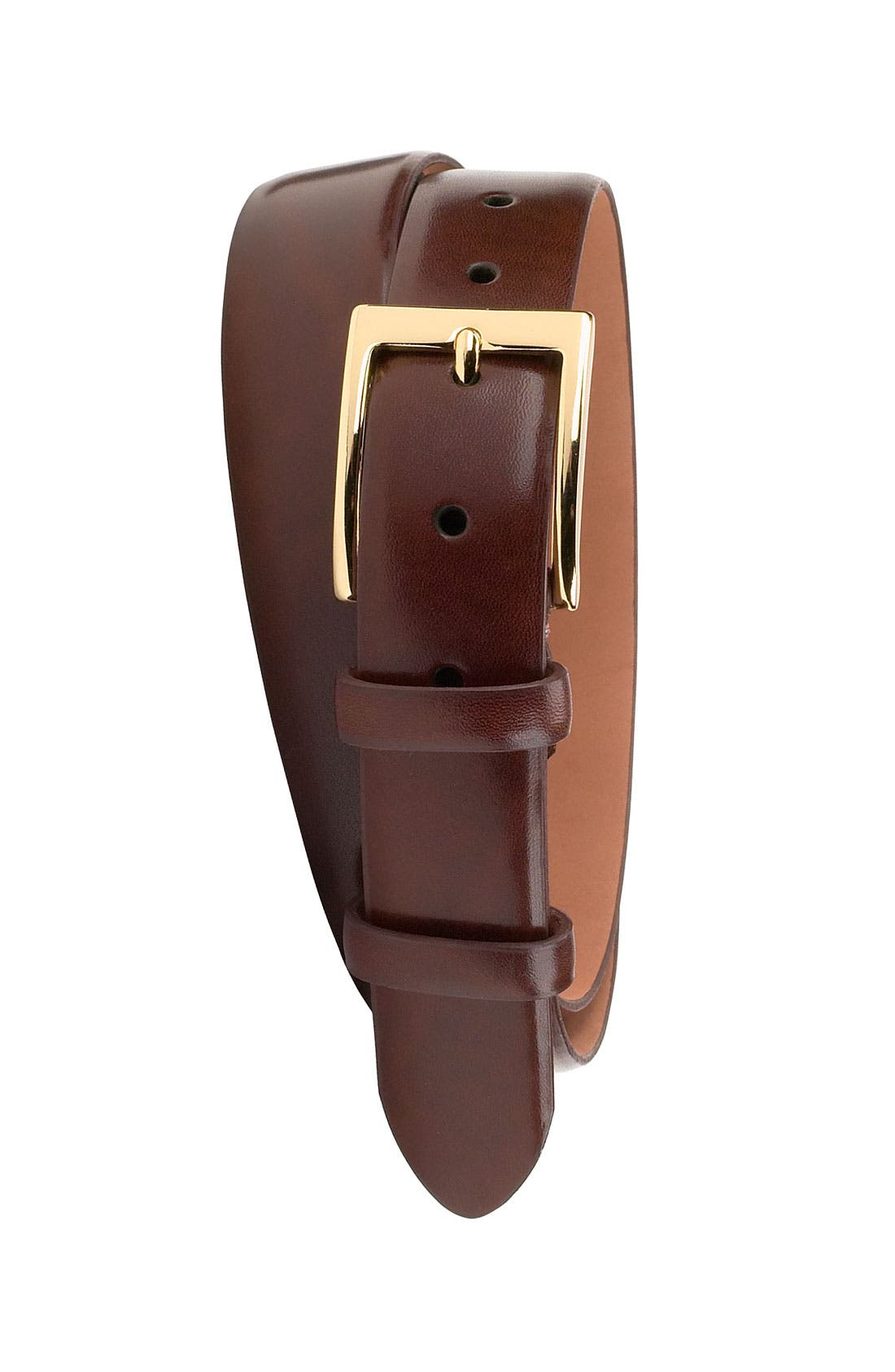 Main Image - Cole Haan 'Webster' Polished Leather Belt