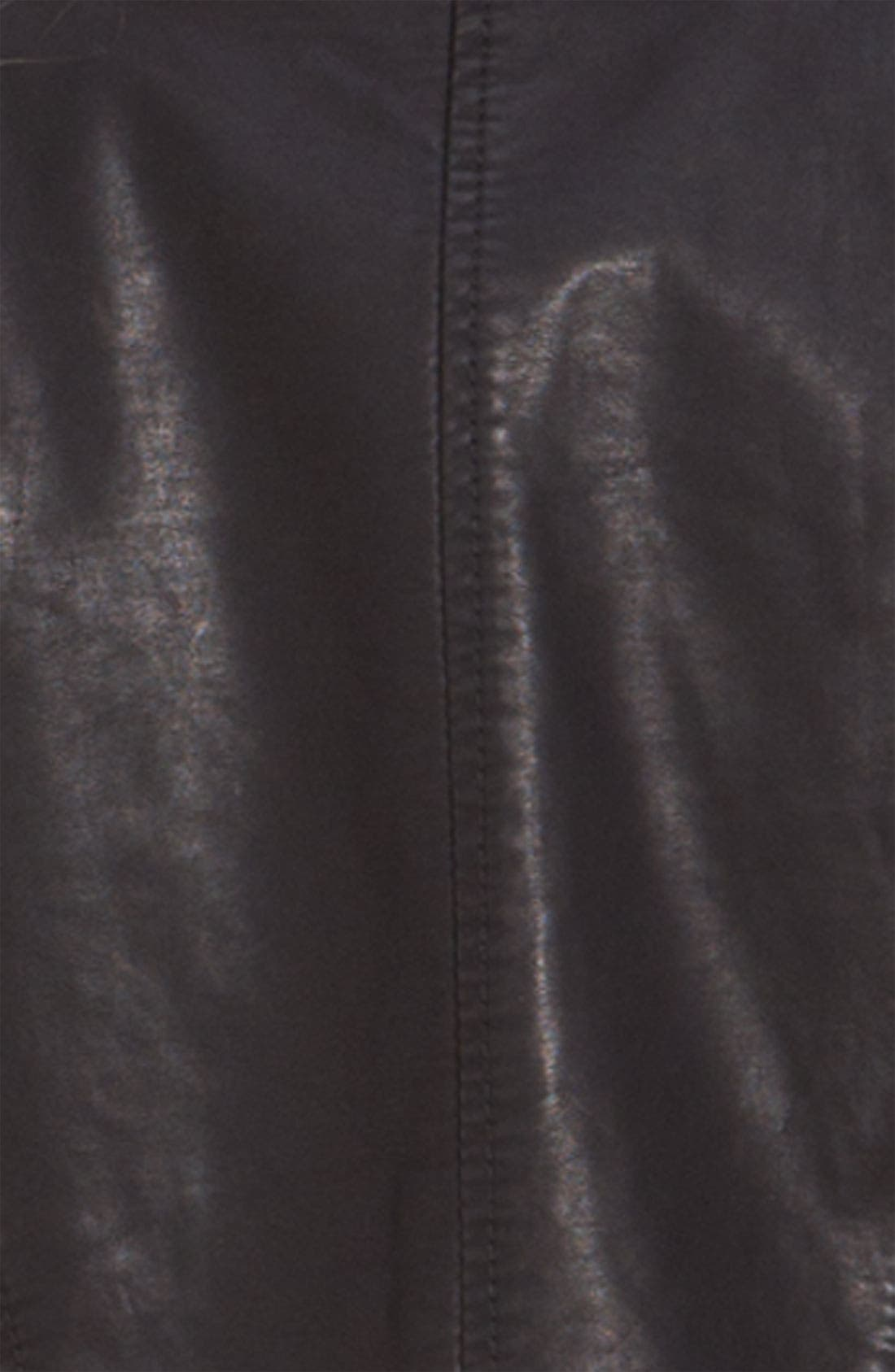 Alternate Image 3  - Free People Vintage Cropped Faux Leather Jacket
