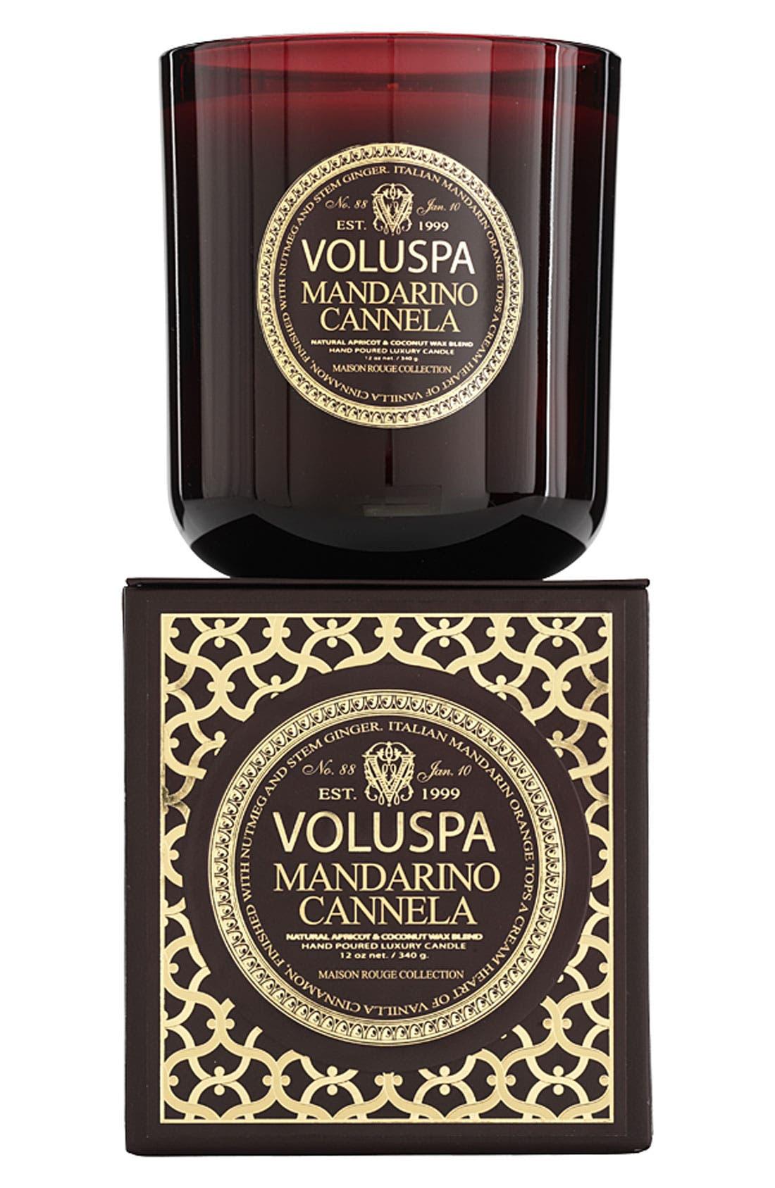 Main Image - Voluspa 'Maison Rouge - Mandarino Cannela' Scented Candle