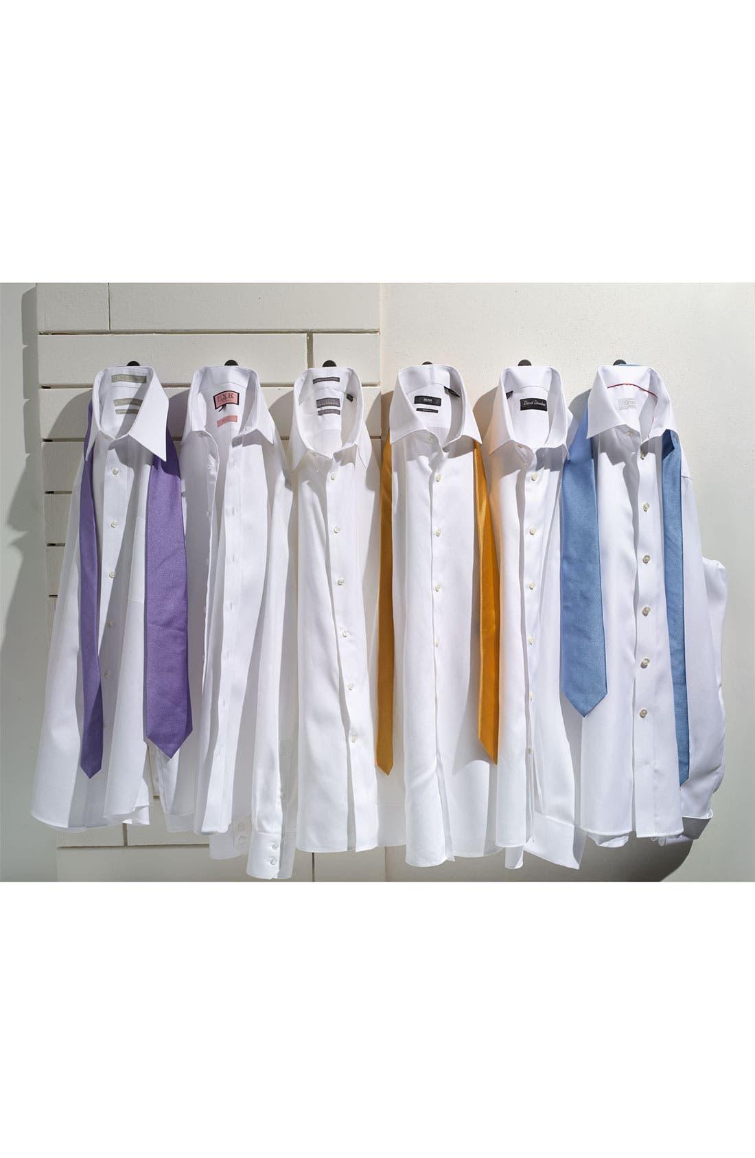 Alternate Image 13  - Nordstrom Men's Shop Smartcare™ Wrinkle Free Traditional Fit Herringbone Dress Shirt