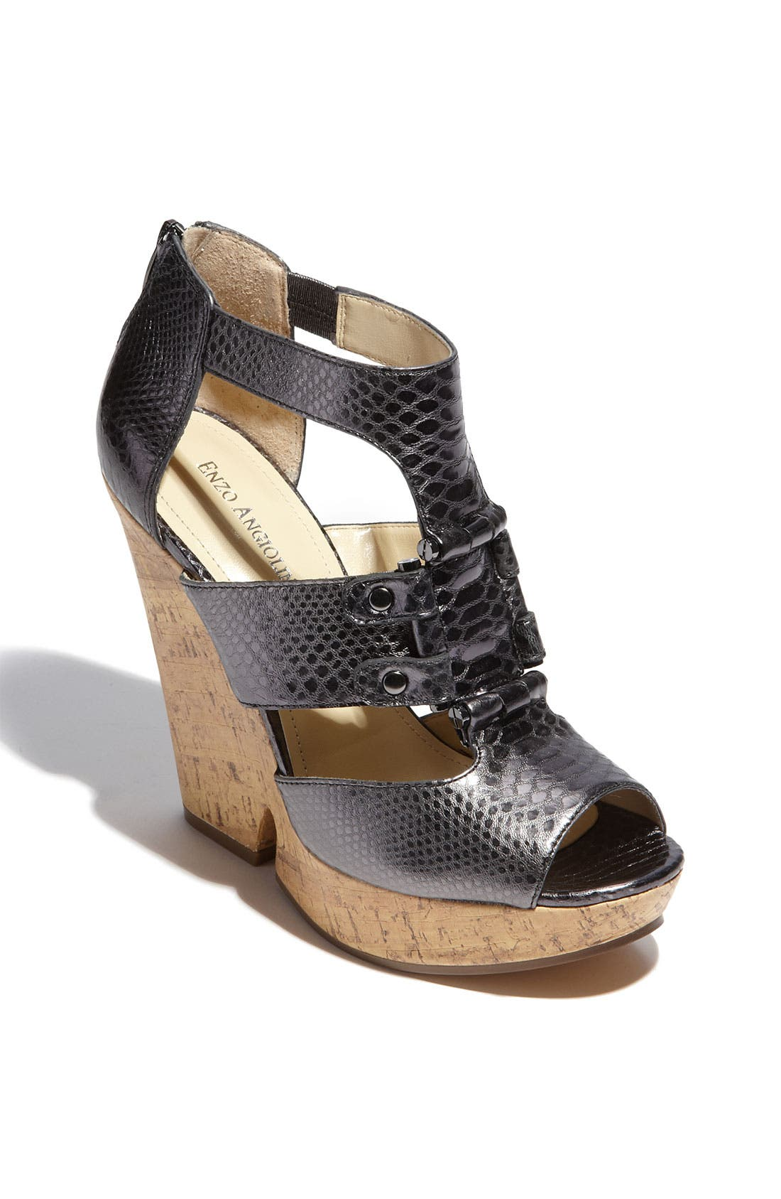 Main Image - Enzo Angiolini 'Dossil' Wedge Sandal