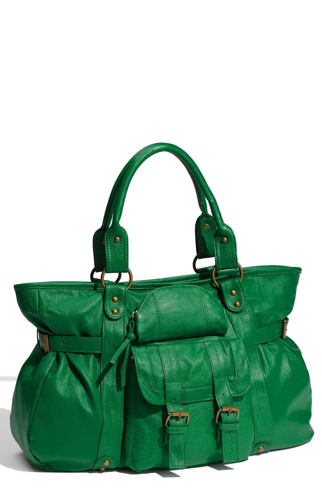 Alternate Image 1 Selected - Cesca Buckle Detail Shoulder Bag