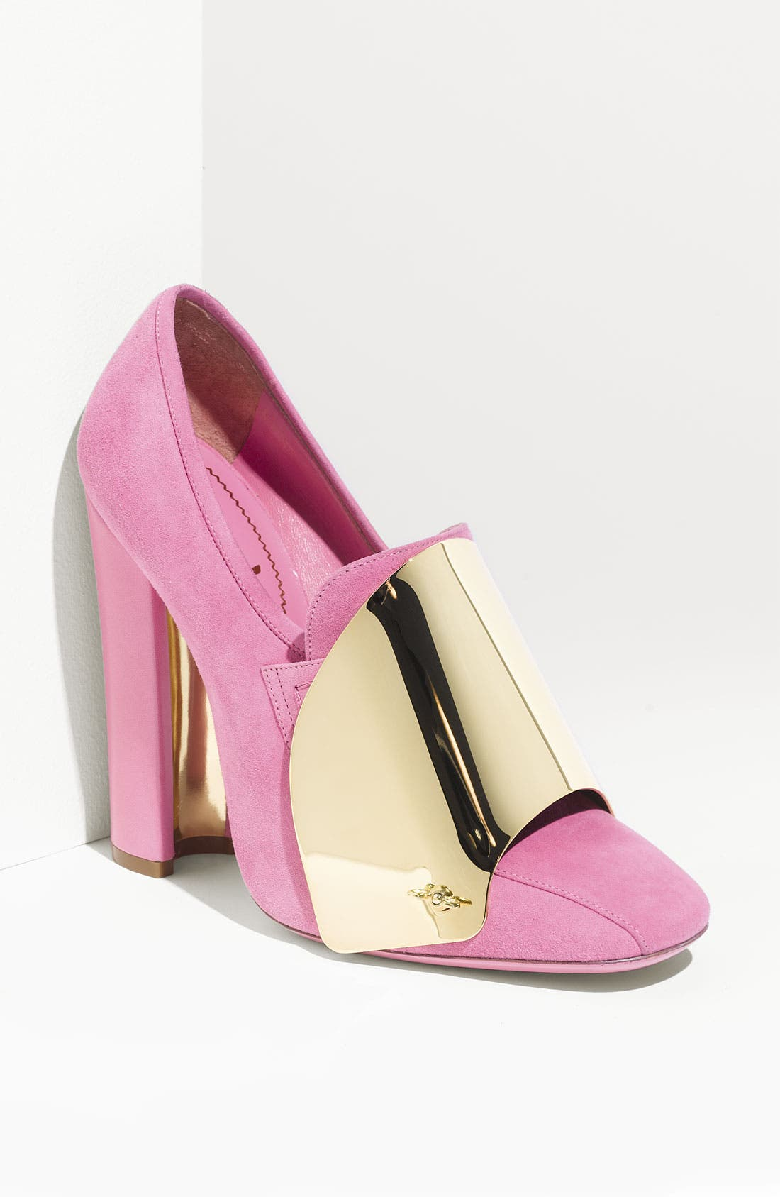 Alternate Image 1 Selected - Yves Saint Laurent 'Shield' Loafer Pump