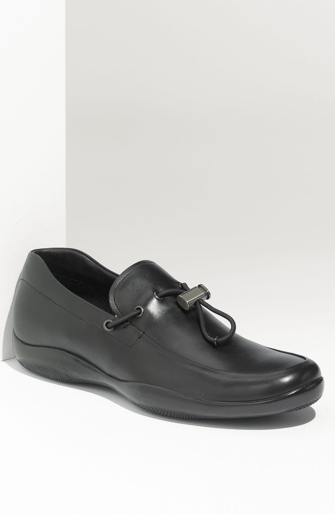 Main Image - Prada Leather Loafer