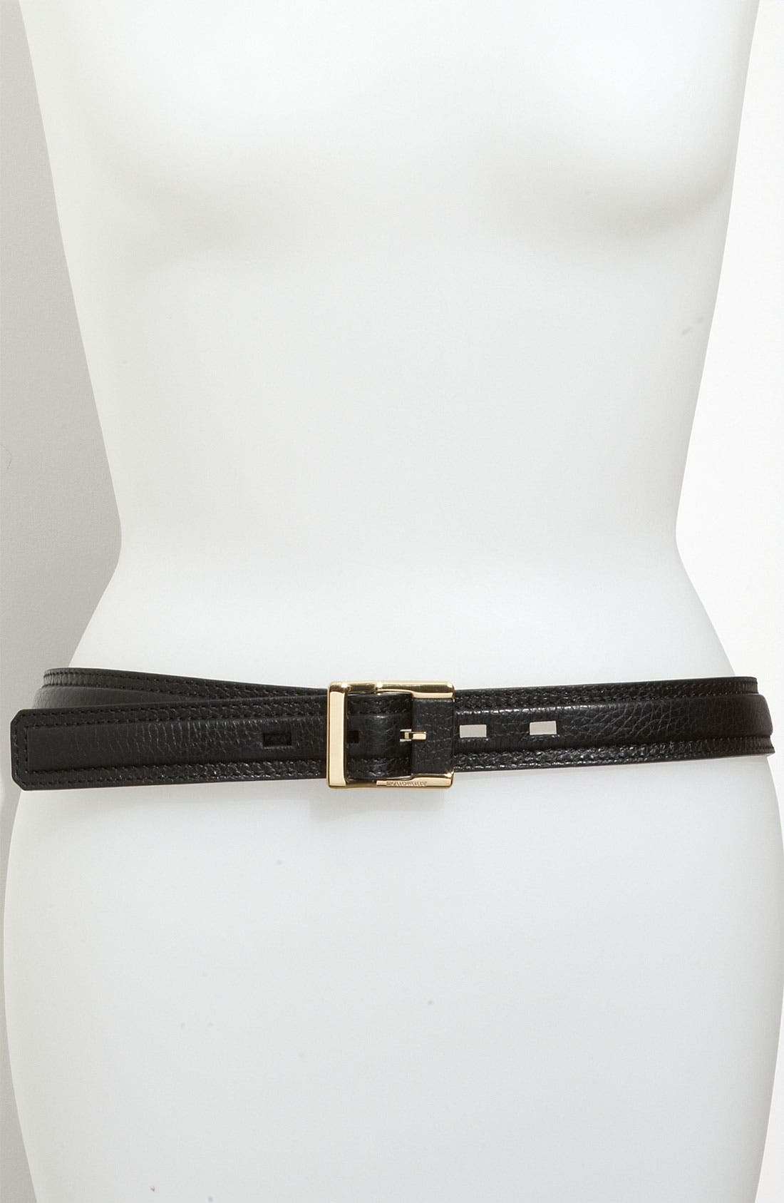 Alternate Image 1 Selected - Burberry Leather Belt