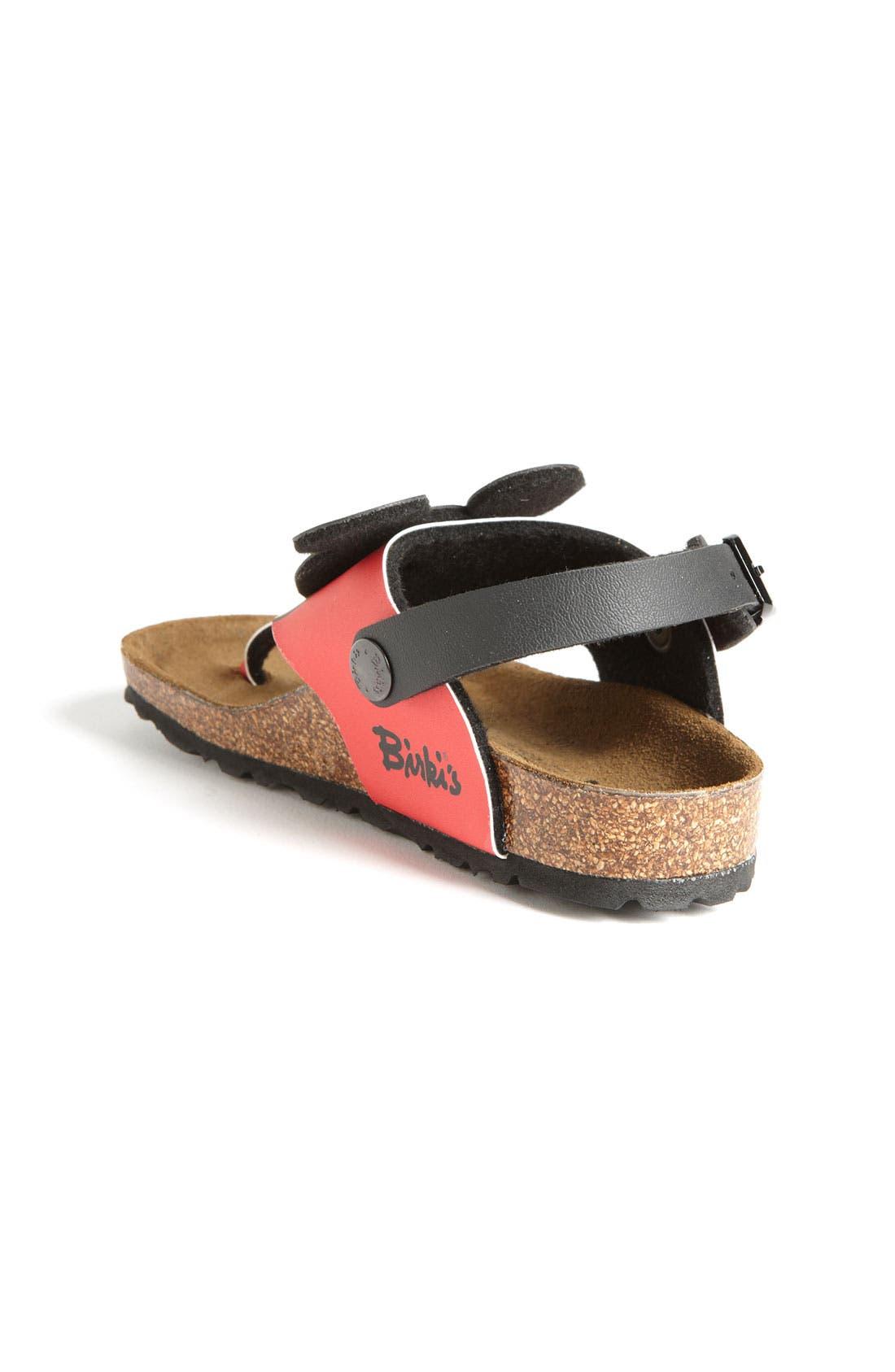 Alternate Image 2  - Birki's® Kids 'Sumatra Mickey' Thong Sandal (Toddler & Little Kid)