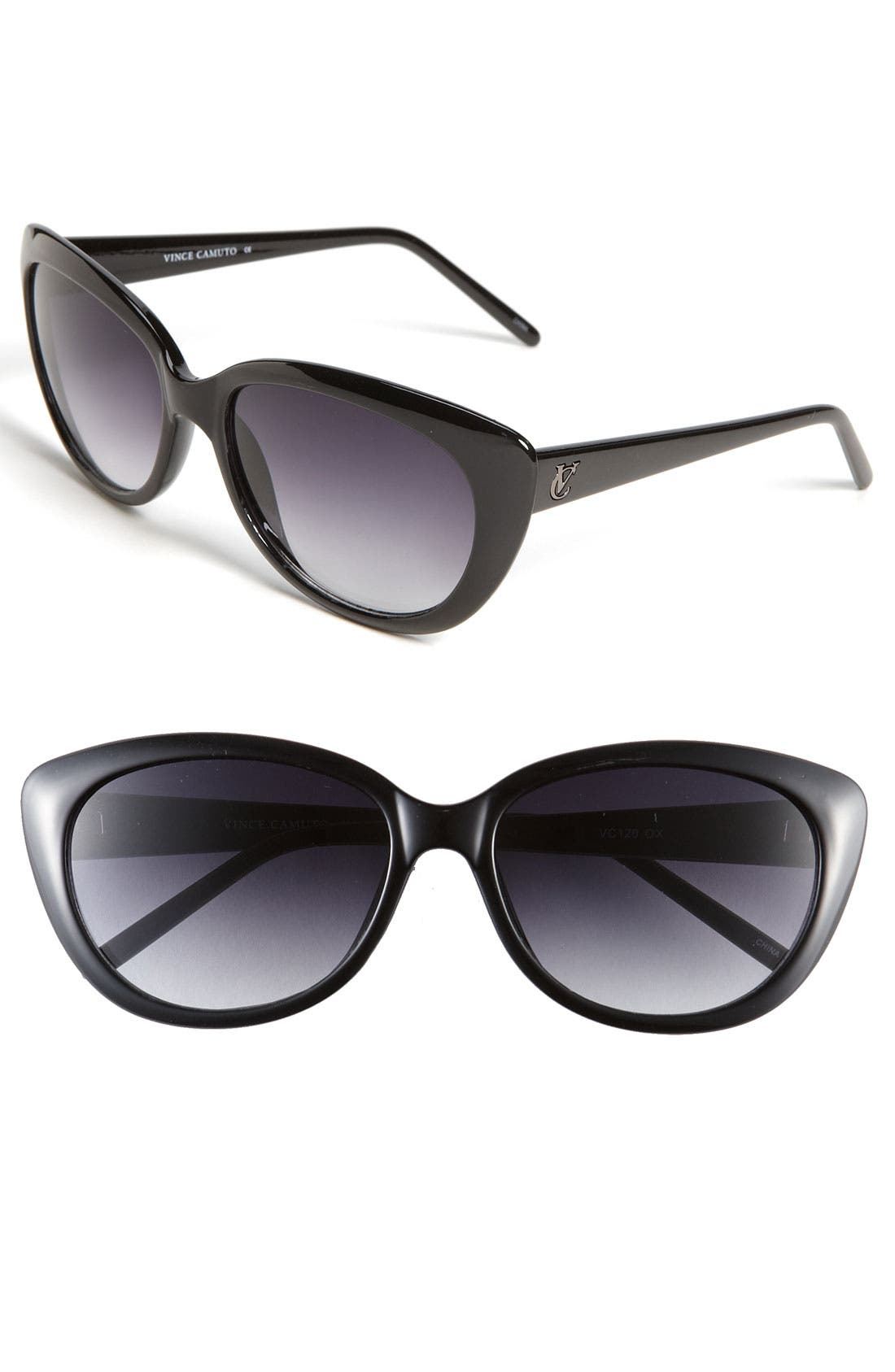 Alternate Image 1 Selected - Vince Camuto 55mm Plastic Cat's Eye Sunglasses