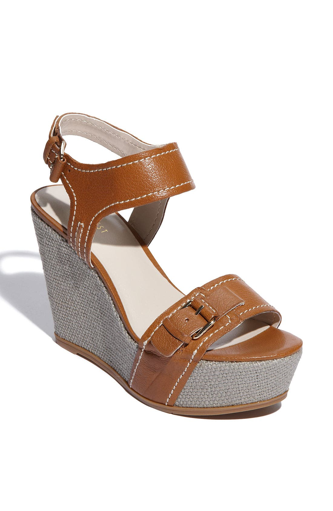 Alternate Image 1 Selected - Nine West 'Leoness' Wedge Sandal