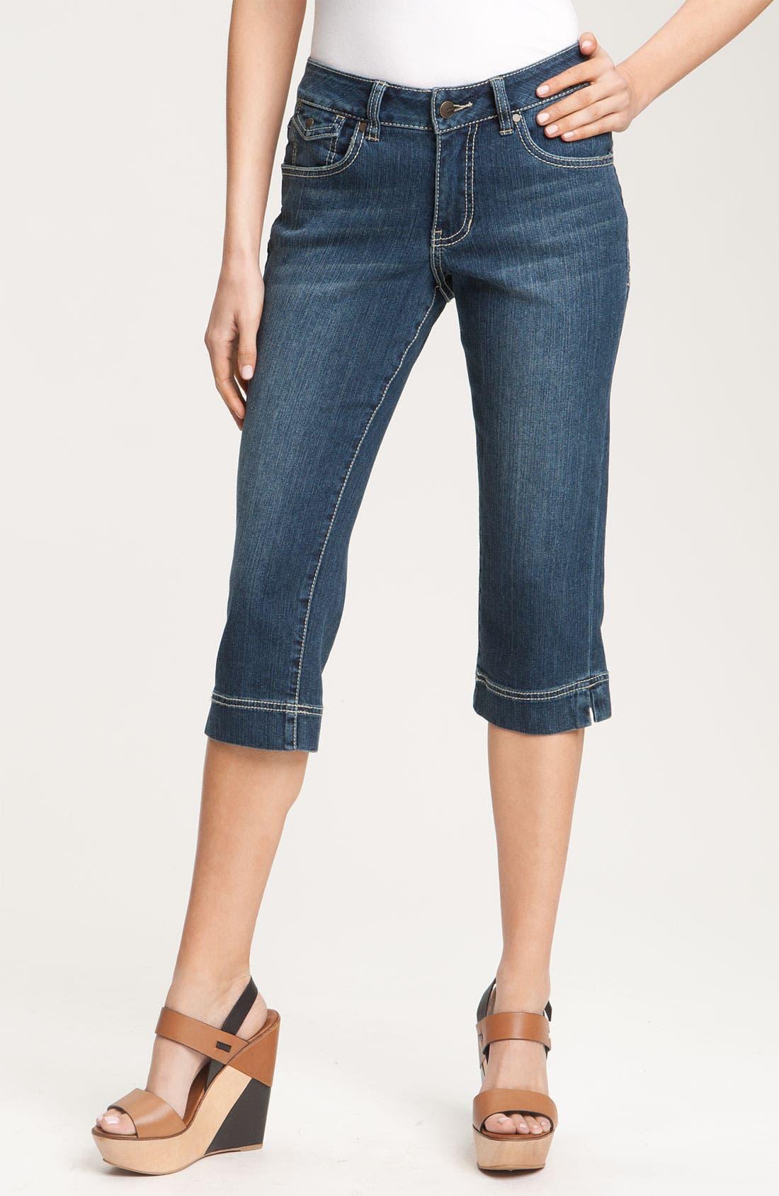 Alternate Image 2  - Jag Jeans 'Selma' Crop Jeans (Petite)
