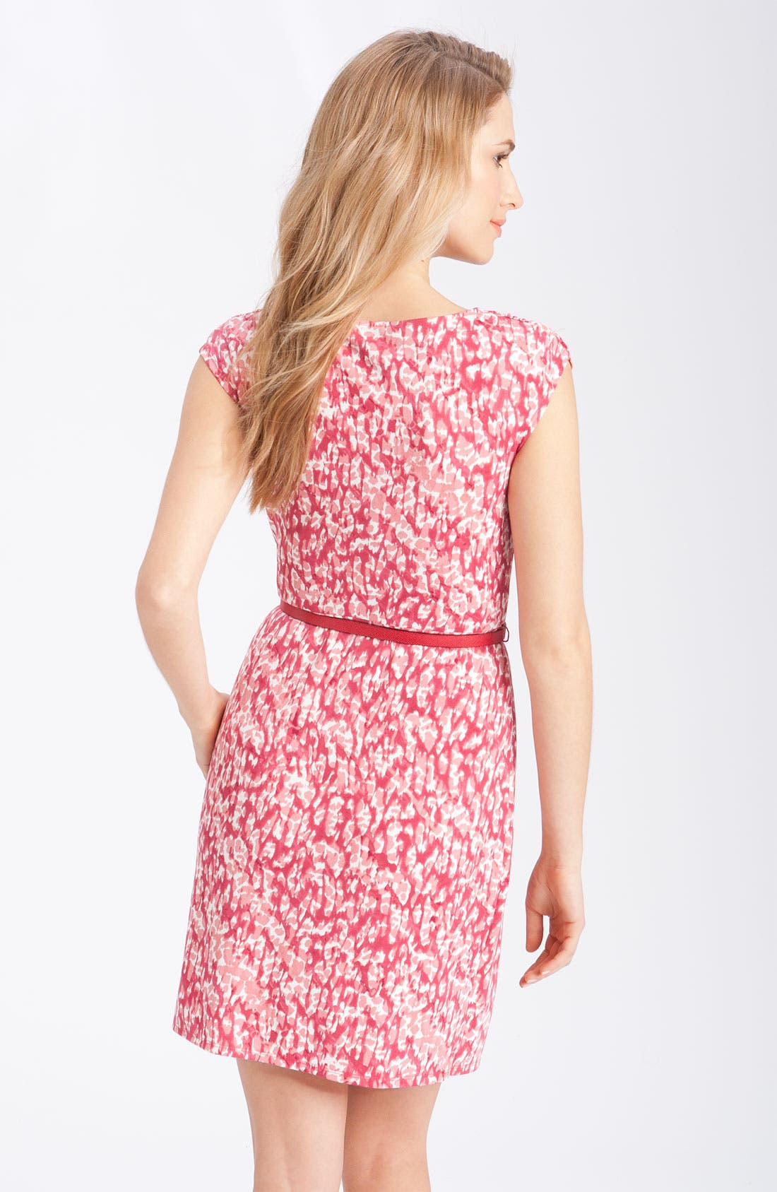 Alternate Image 2  - Anne Klein Faux Wrap Matte Jersey Dress