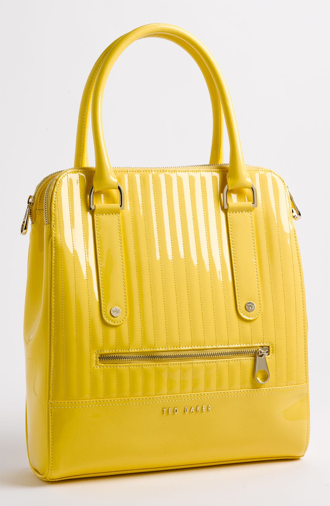Alternate Image 1 Selected - Ted Baker London Quilted Patent Shopper