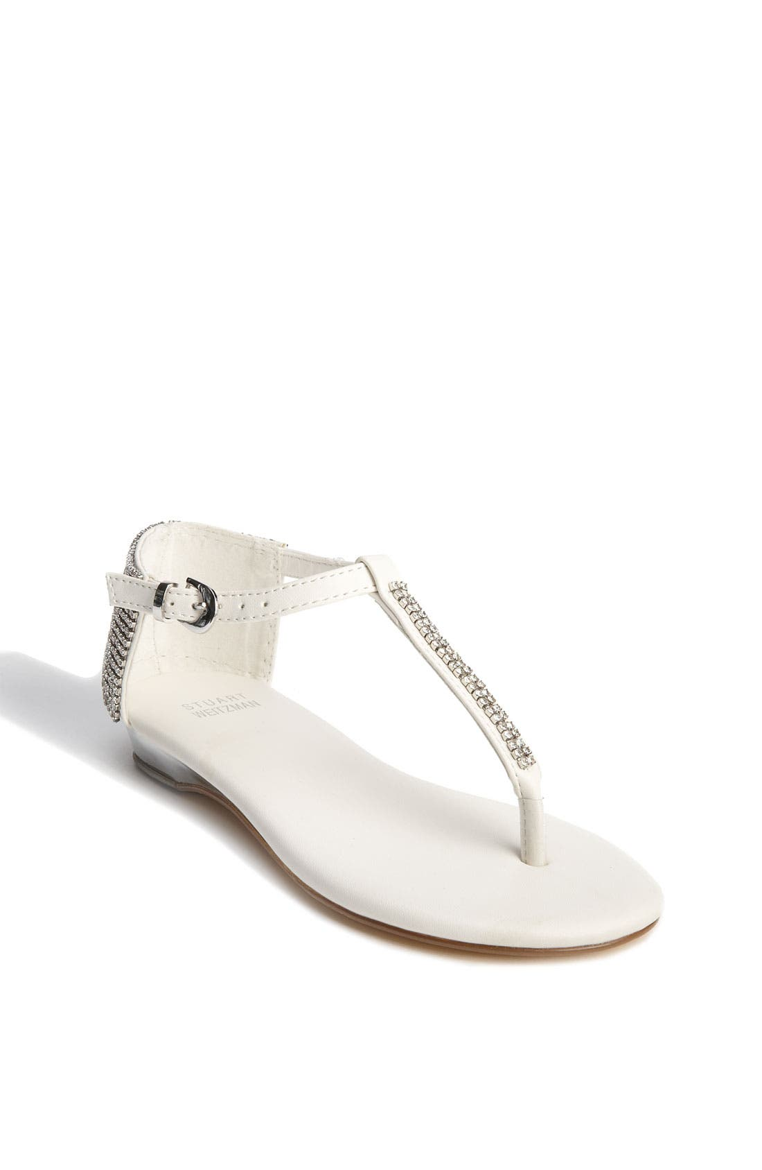 Alternate Image 1 Selected - Stuart Weitzman 'Bravo' Sandal (Toddler, Little Kid & Big Kid)