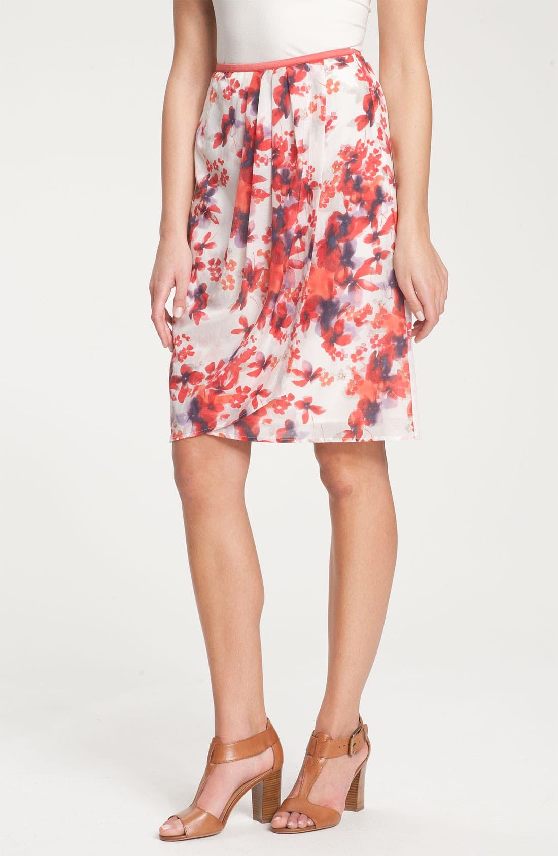 Alternate Image 1 Selected - Nic + Zoe 'Blushing Floral' Skirt
