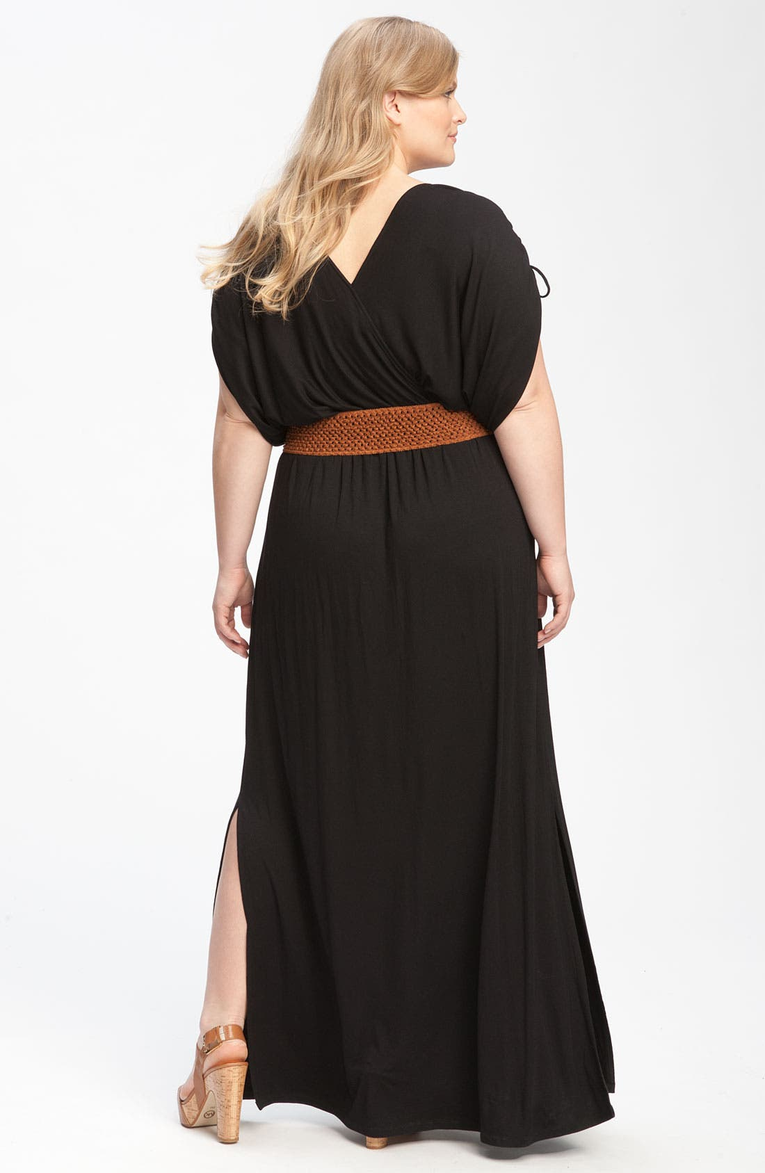 Alternate Image 2  - Remain Belted Maxi Dress (Plus)