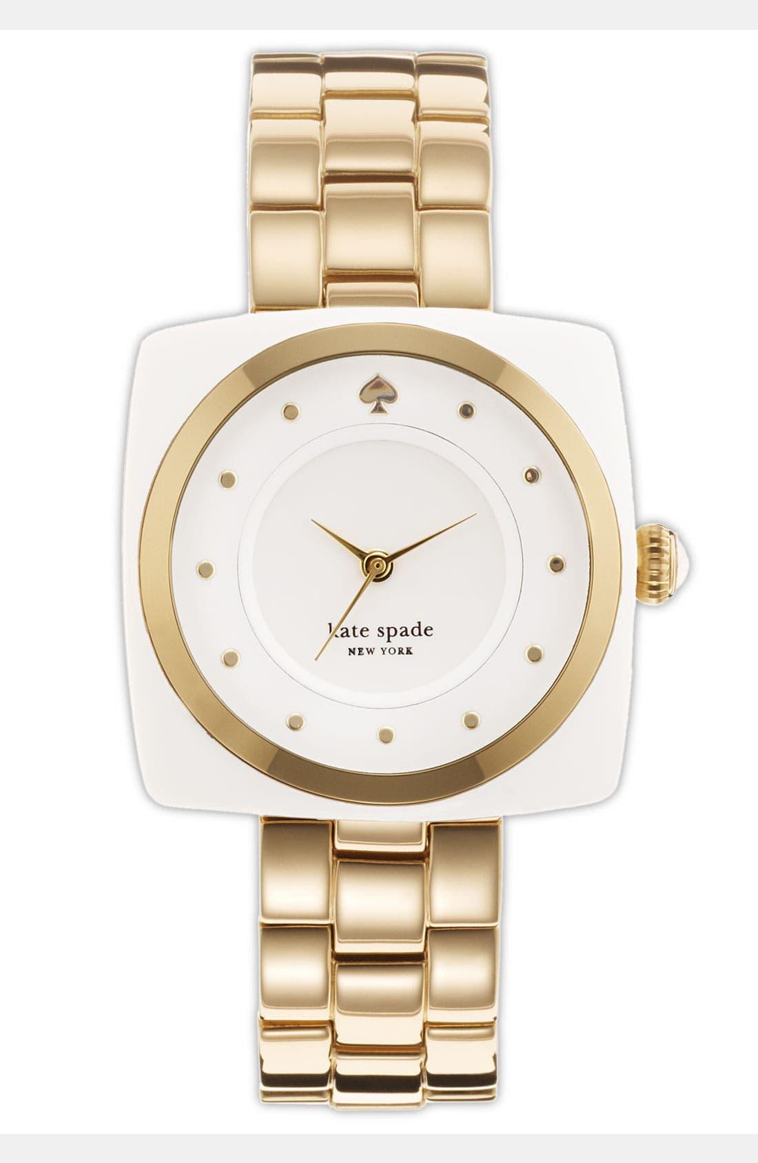 Alternate Image 1 Selected - kate spade new york 'parsons' bracelet watch