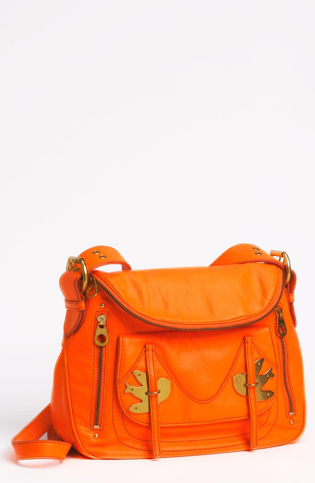 Main Image - MARC BY MARC JACOBS 'Petal to the Metal - Natasha' Flap Crossbody Bag, Medium