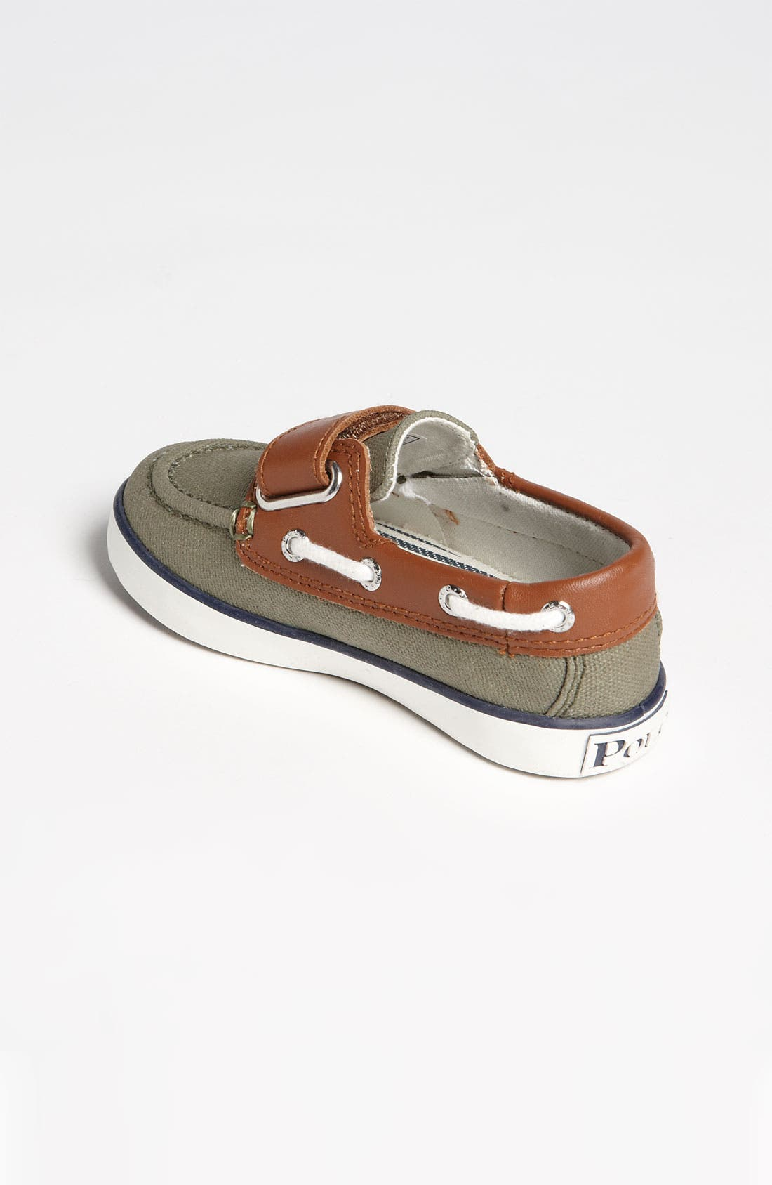 Alternate Image 2  - Ralph Lauren Kids Boat Shoe (Baby, Walker & Toddler)