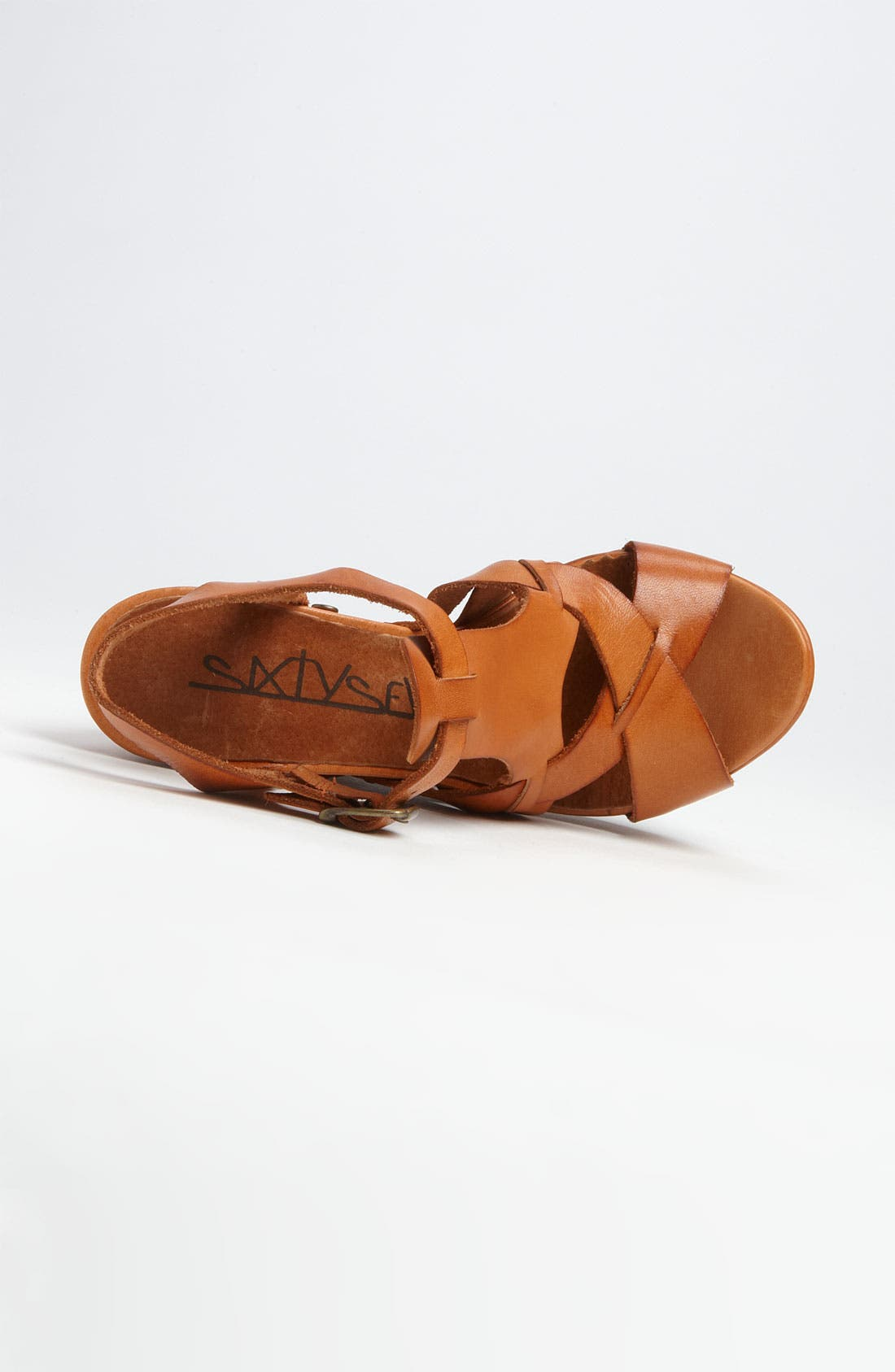 Alternate Image 3  - SIXTYSEVEN '72019' T-Strap Wedge Sandal