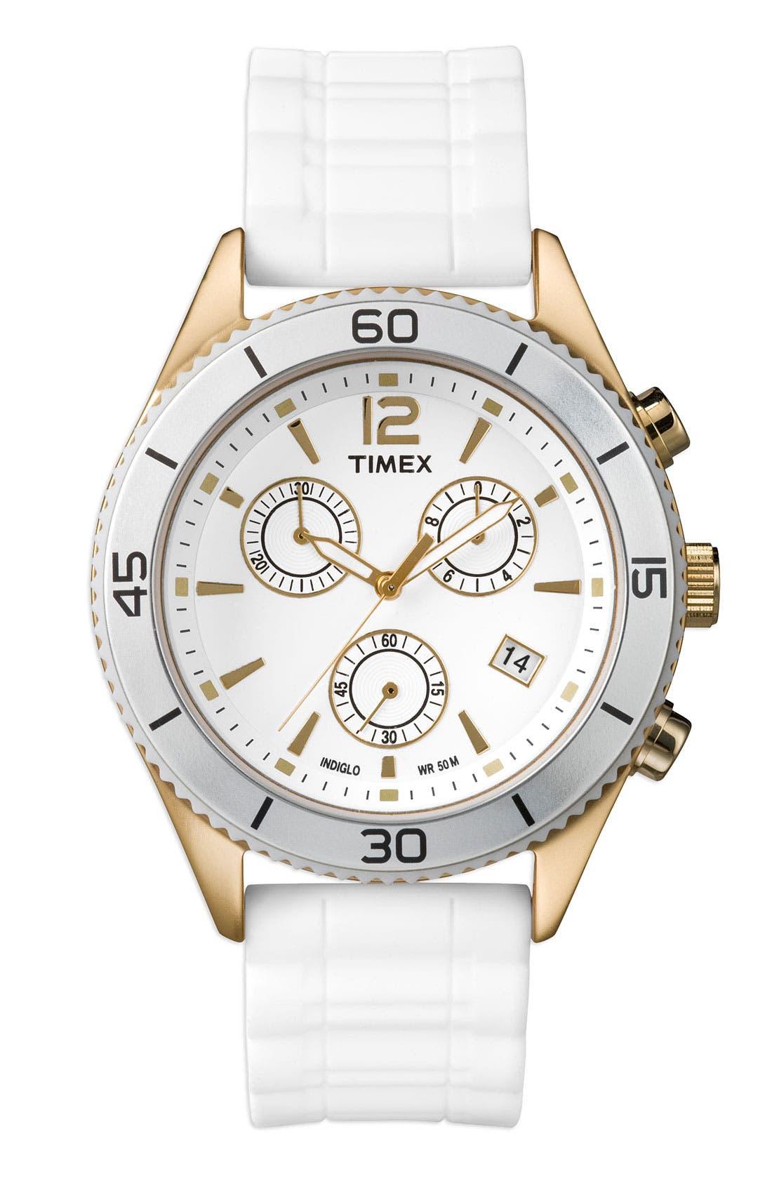Main Image - Timex® Round Chronograph Watch